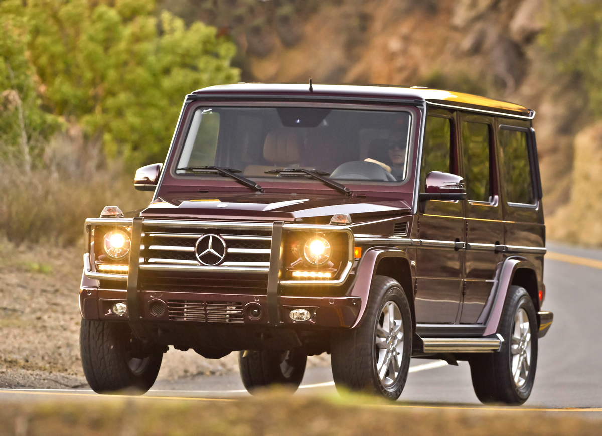 2014 mercedes-benz g class gas mileage - the car connection