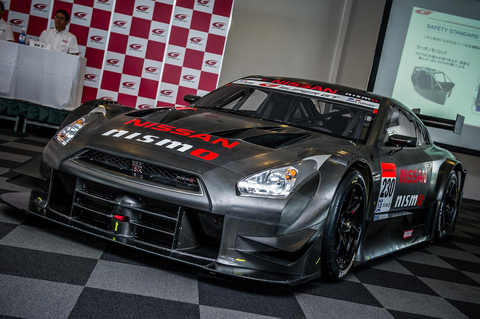 2014 nissan gt r nismo gt500 super gt race car revealed. Black Bedroom Furniture Sets. Home Design Ideas