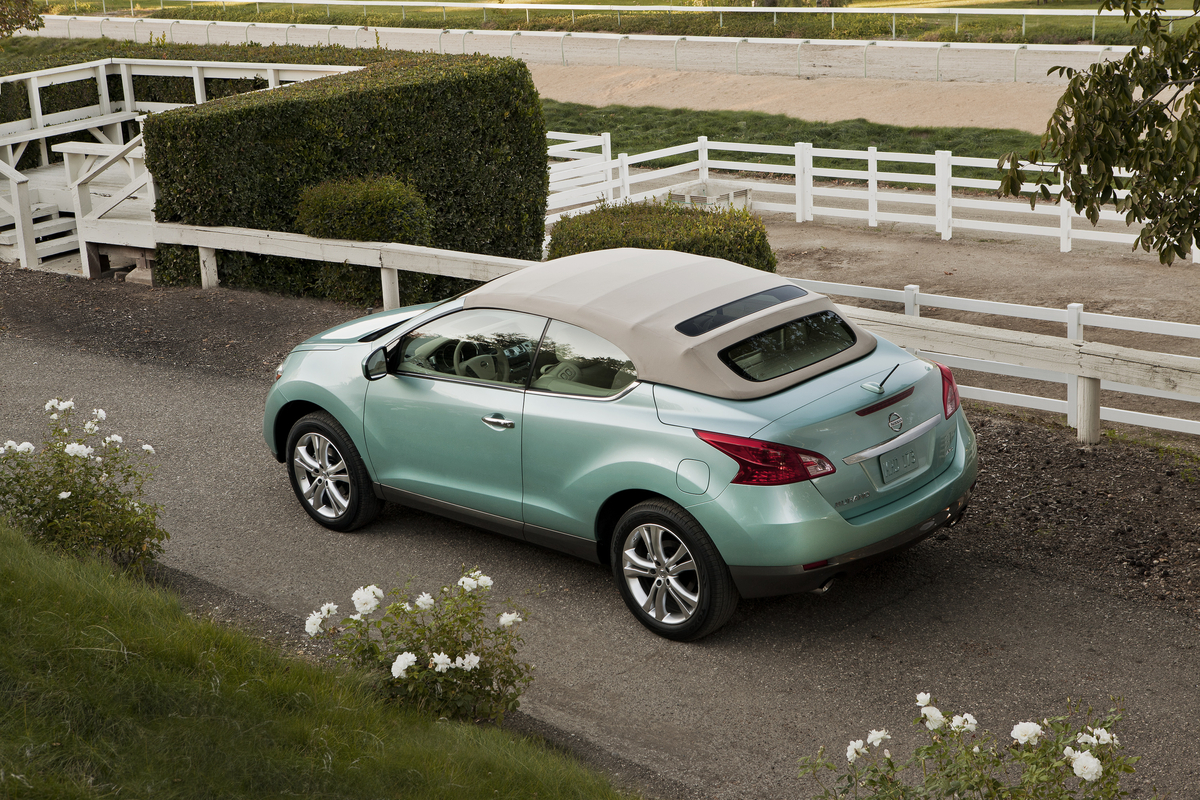 2014 nissan murano crosscabriolet review ratings specs prices and photos the car connection. Black Bedroom Furniture Sets. Home Design Ideas