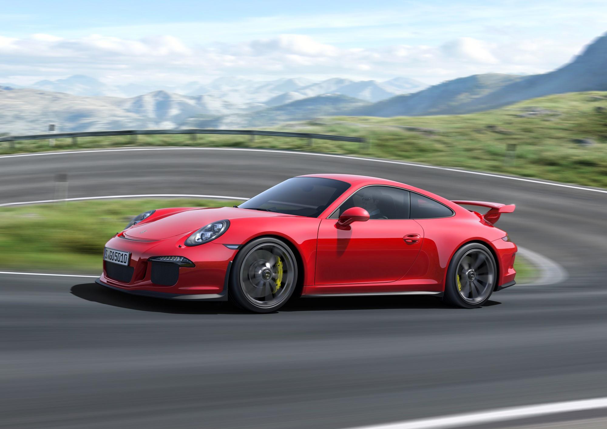 2014 porsche 911 gt3 unveiled at 2013 geneva auto show