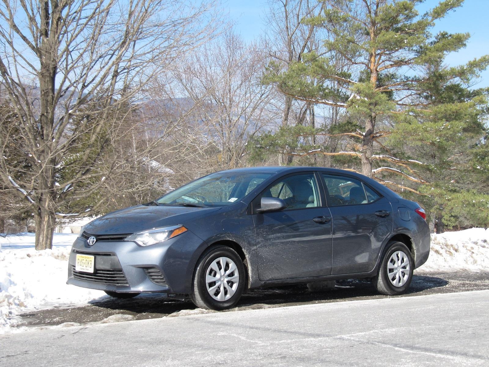 2014 Toyota Corolla Eco Le Gas Mileage Test Drive