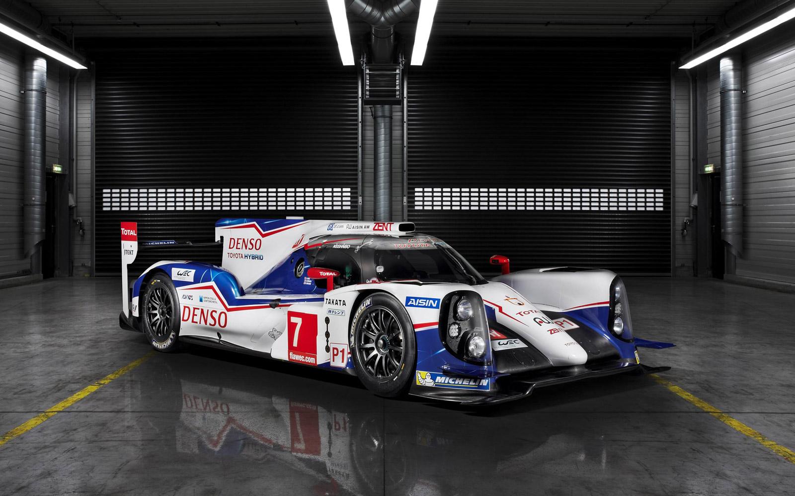 Toyota Ts Hybrid Le Mans Prototype H