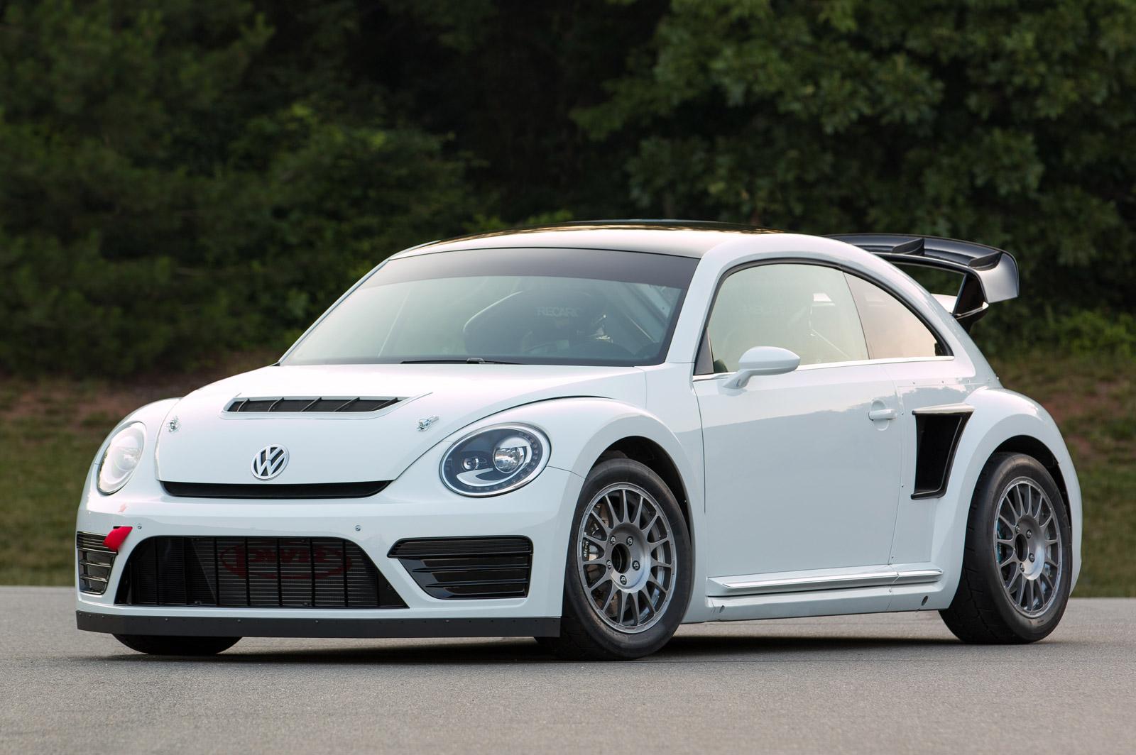 2014 volkswagen beetle global rallycross championship car revealed. Black Bedroom Furniture Sets. Home Design Ideas