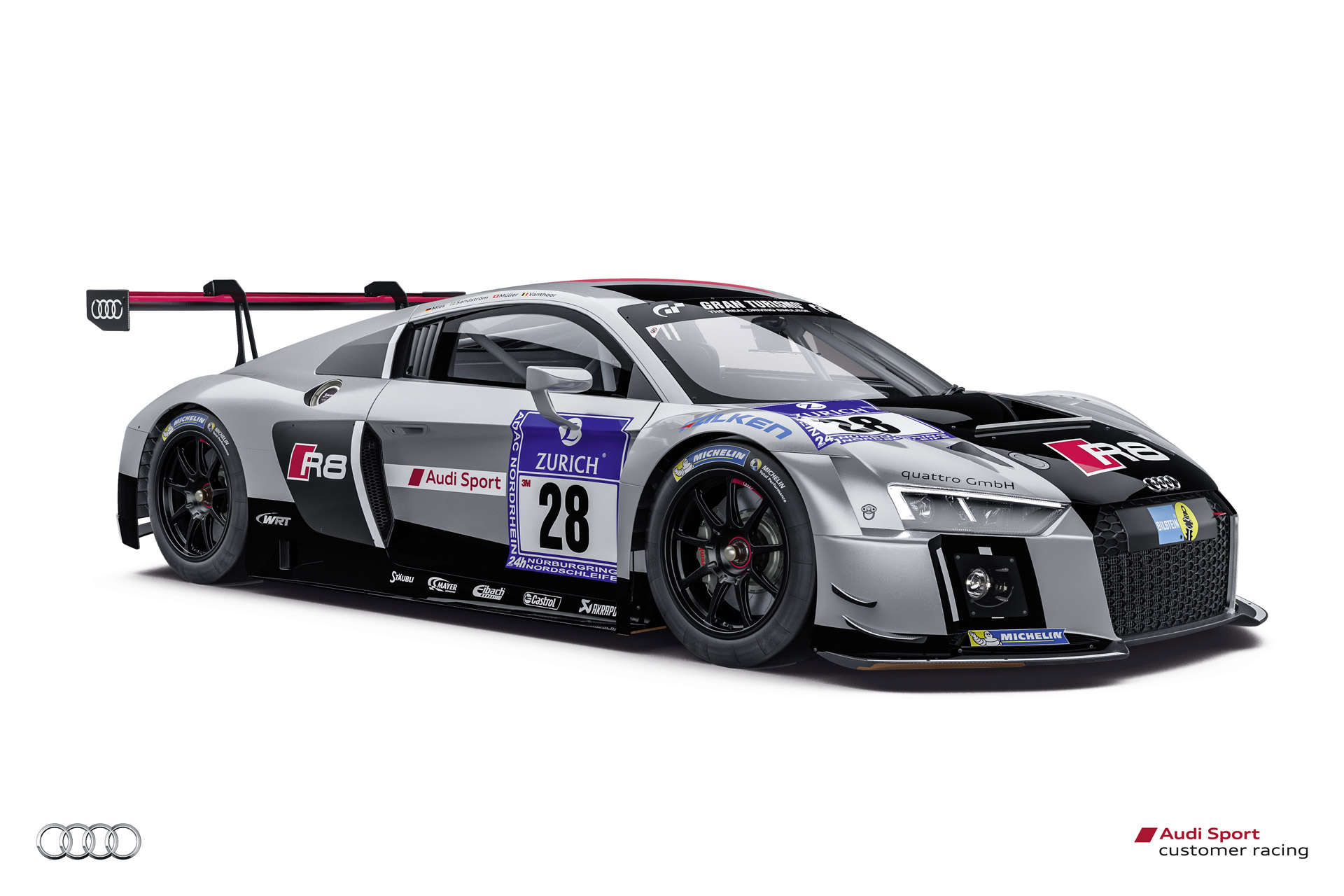 new audi r8 lms ready for 2015 n rburgring 24 hours race. Black Bedroom Furniture Sets. Home Design Ideas