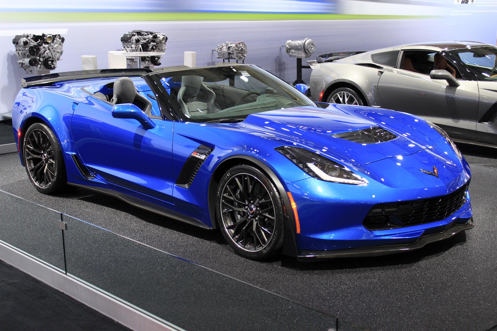 2015 Chevrolet Corvette Z06 Convertible: 2014 New York Auto Show Live Photos