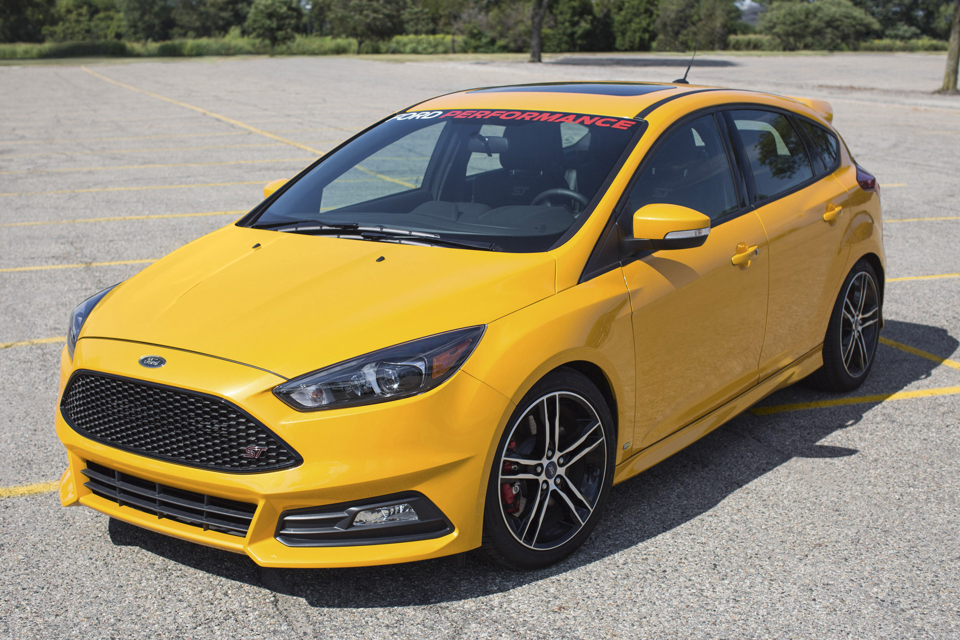 2015 ford focus st equipped with ford performance upgrades 100523548 h. Cars Review. Best American Auto & Cars Review