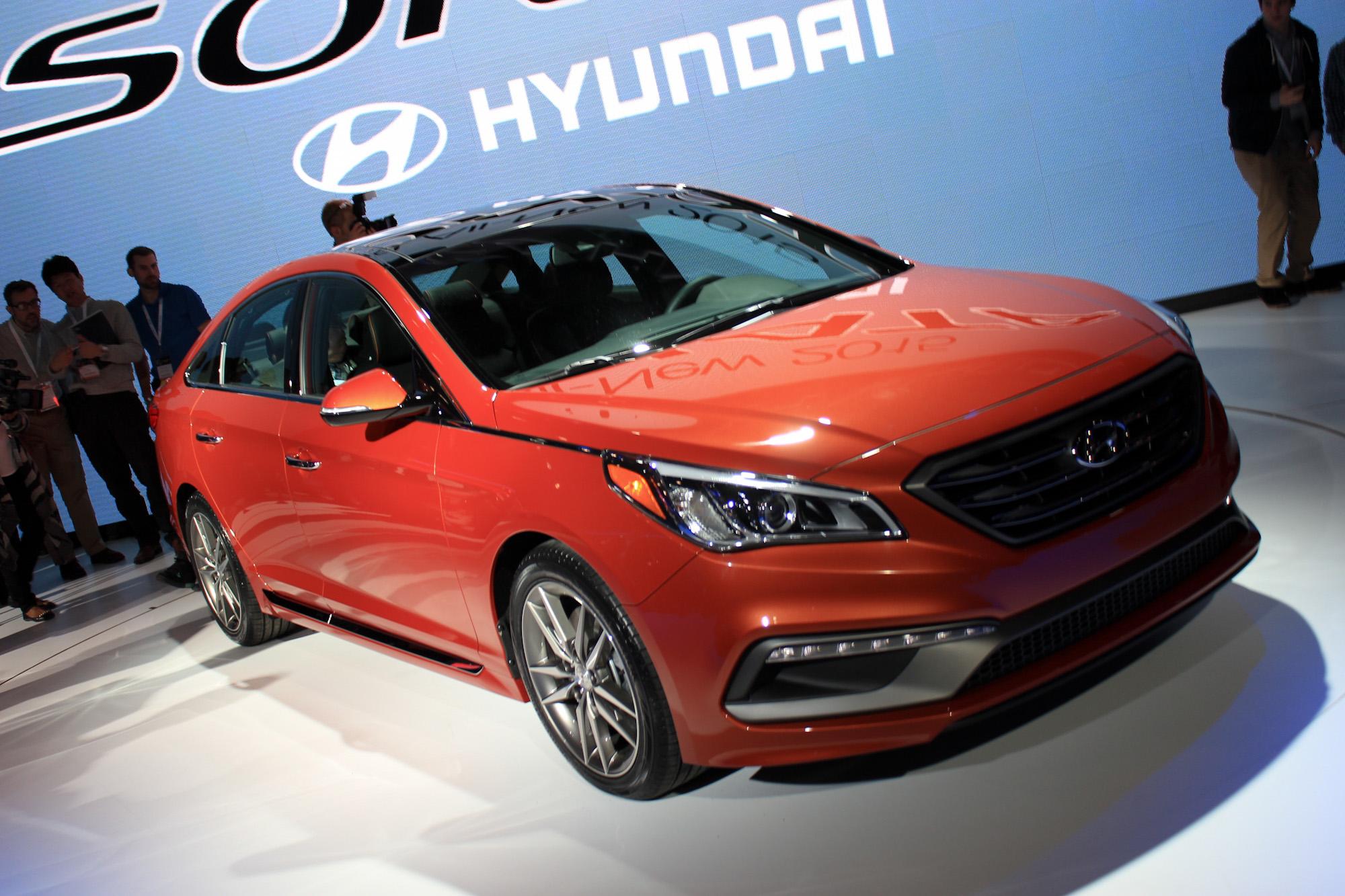 Lastest 2015 Hyundai Sonata Debuts At 2014 New York Auto Show