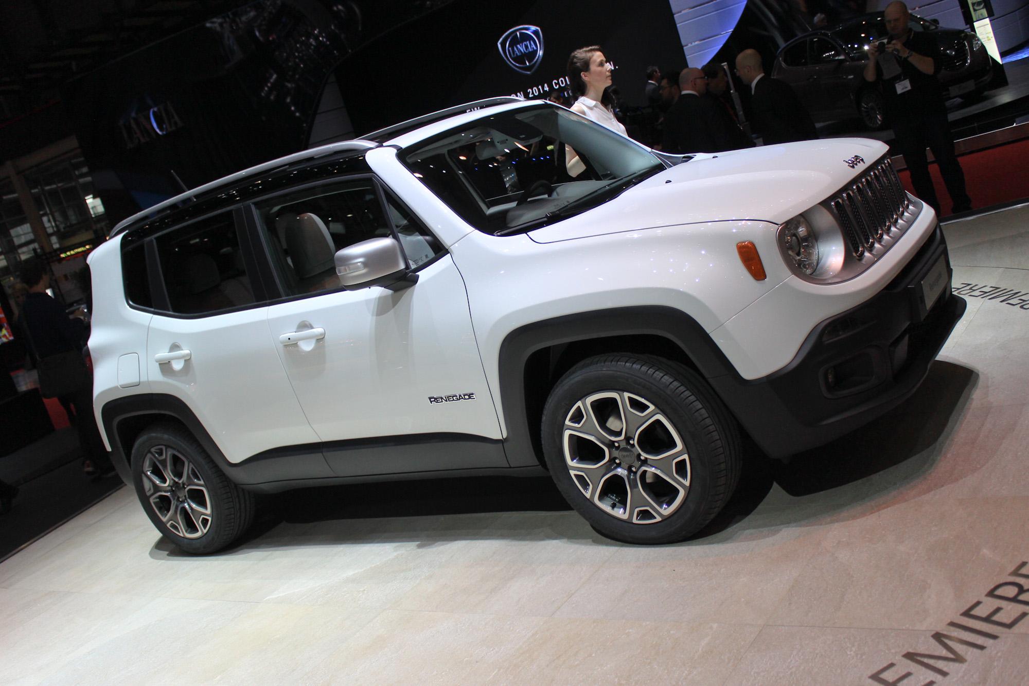 2015 Jeep Renegade Tiniest Jeep Yet Unveiled In Geneva