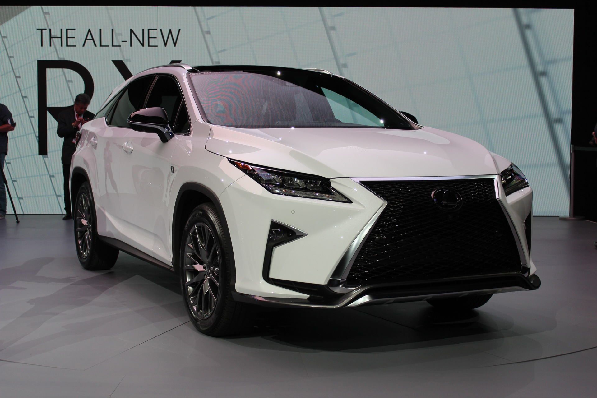 2016 lexus rx 2015 new york auto show live photos and video. Black Bedroom Furniture Sets. Home Design Ideas