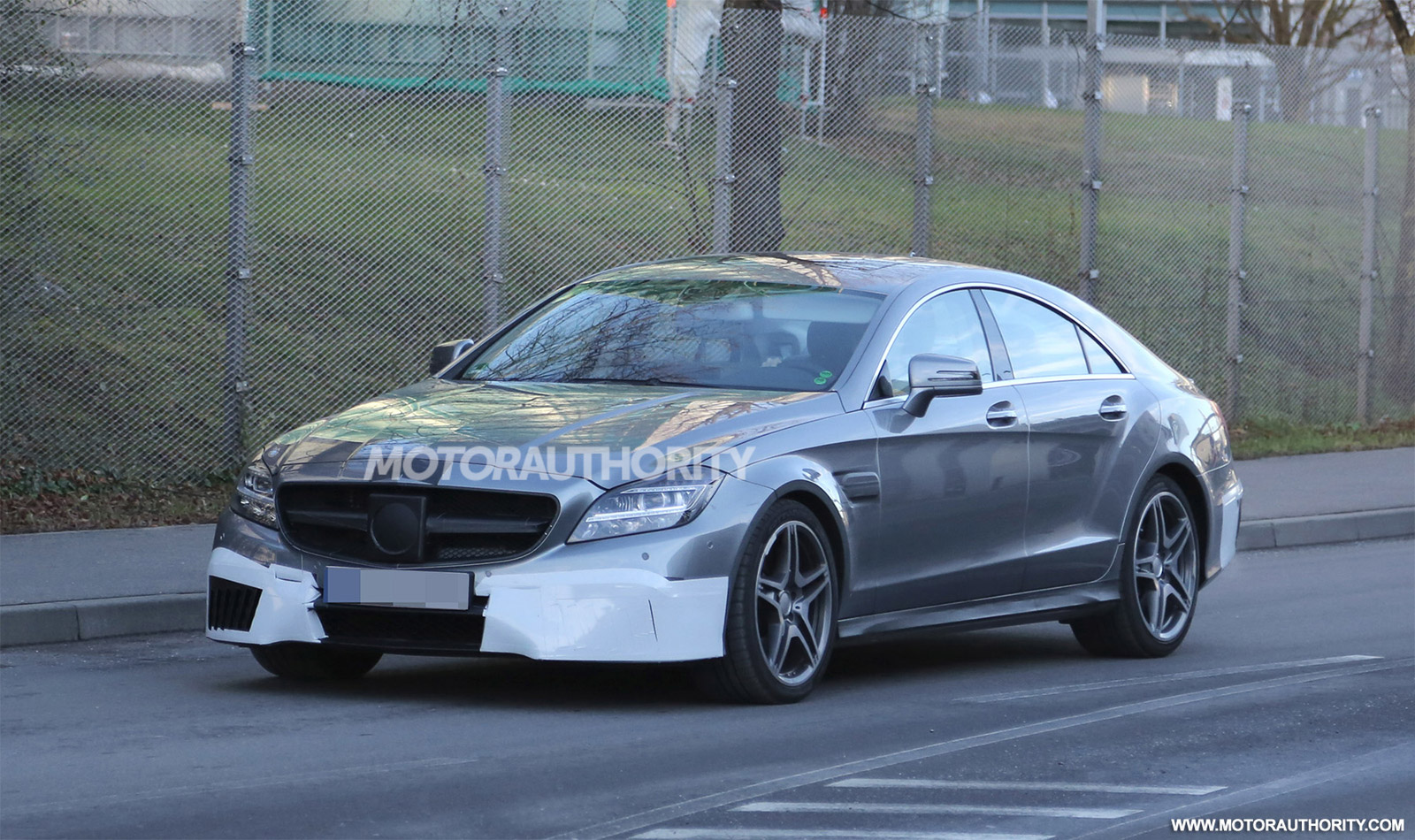 2015 mercedes benz cls63 amg spy shots. Black Bedroom Furniture Sets. Home Design Ideas