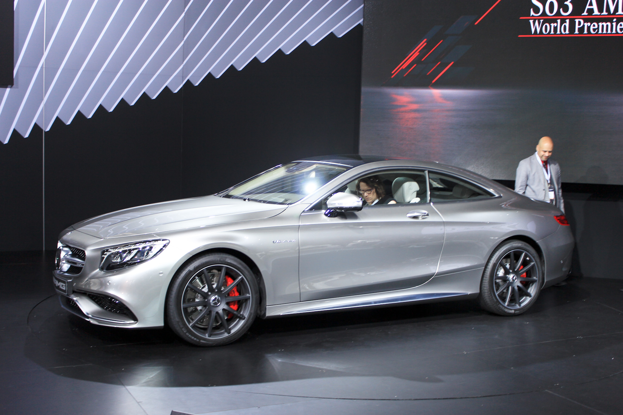 2015 Mercedes Benz S63 Amg Coupe 2014 New York Auto Show