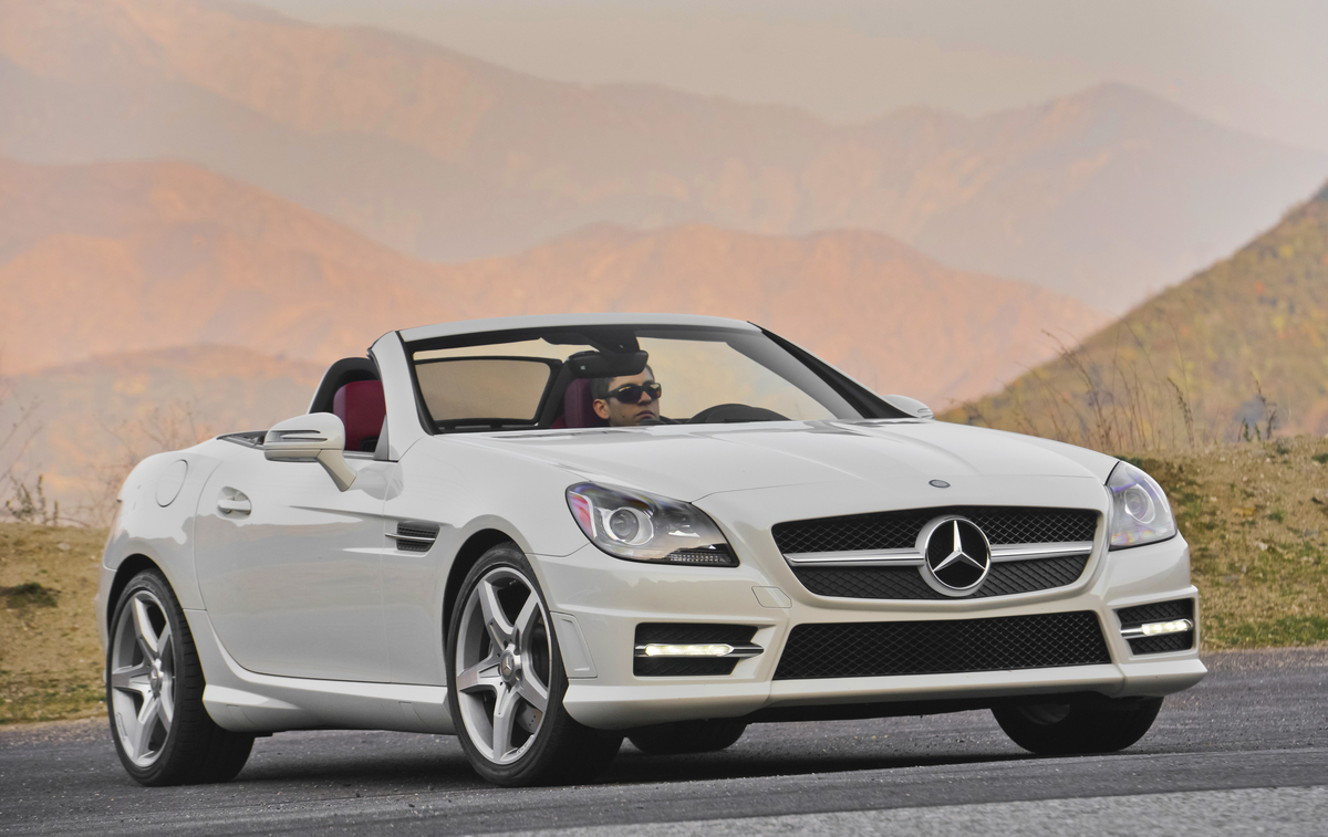 2015 mercedes benz slk class review ratings specs prices and photos the car connection. Black Bedroom Furniture Sets. Home Design Ideas