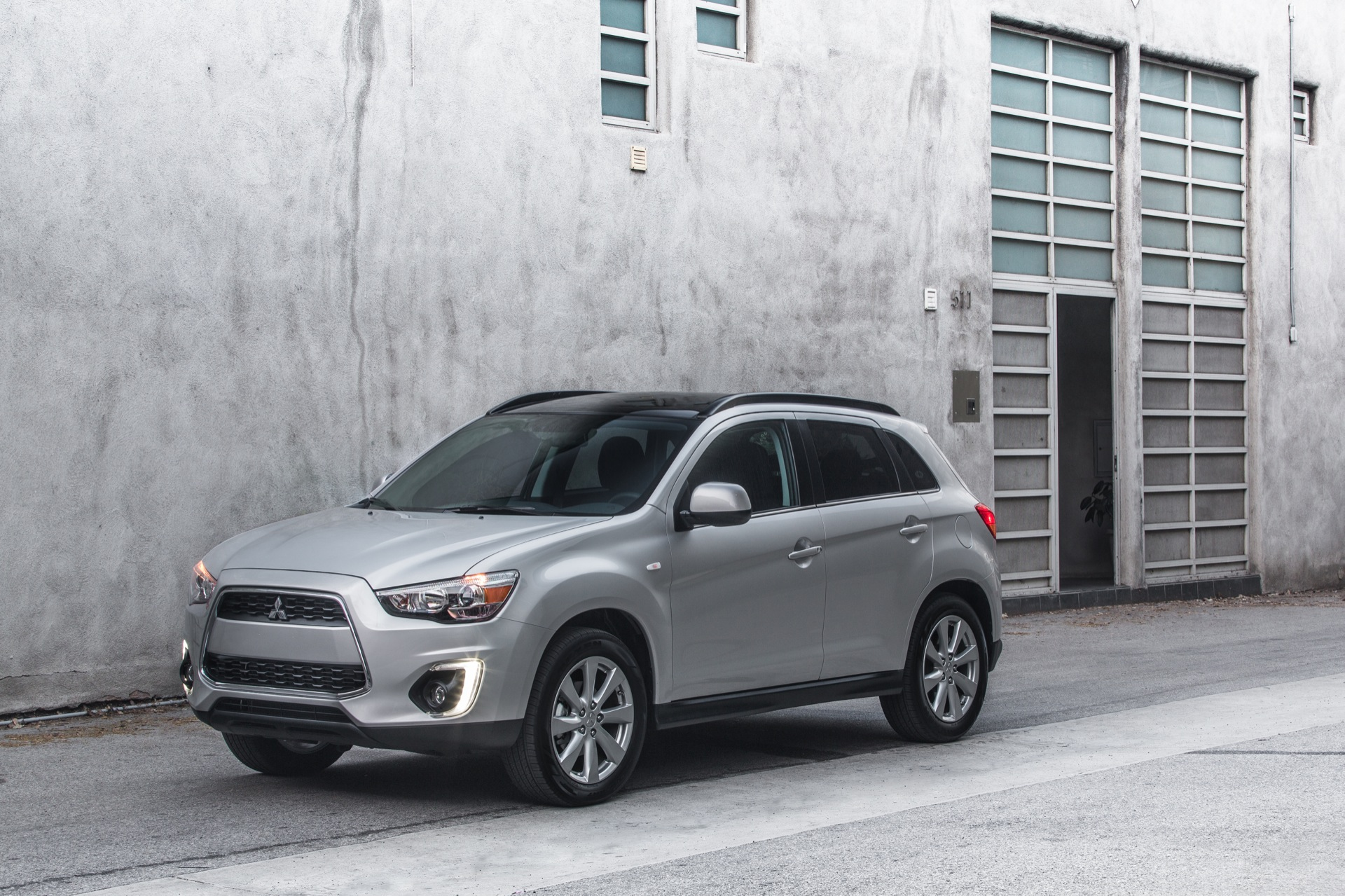 2015 mitsubishi outlander sport review ratings specs prices and photos the car connection. Black Bedroom Furniture Sets. Home Design Ideas