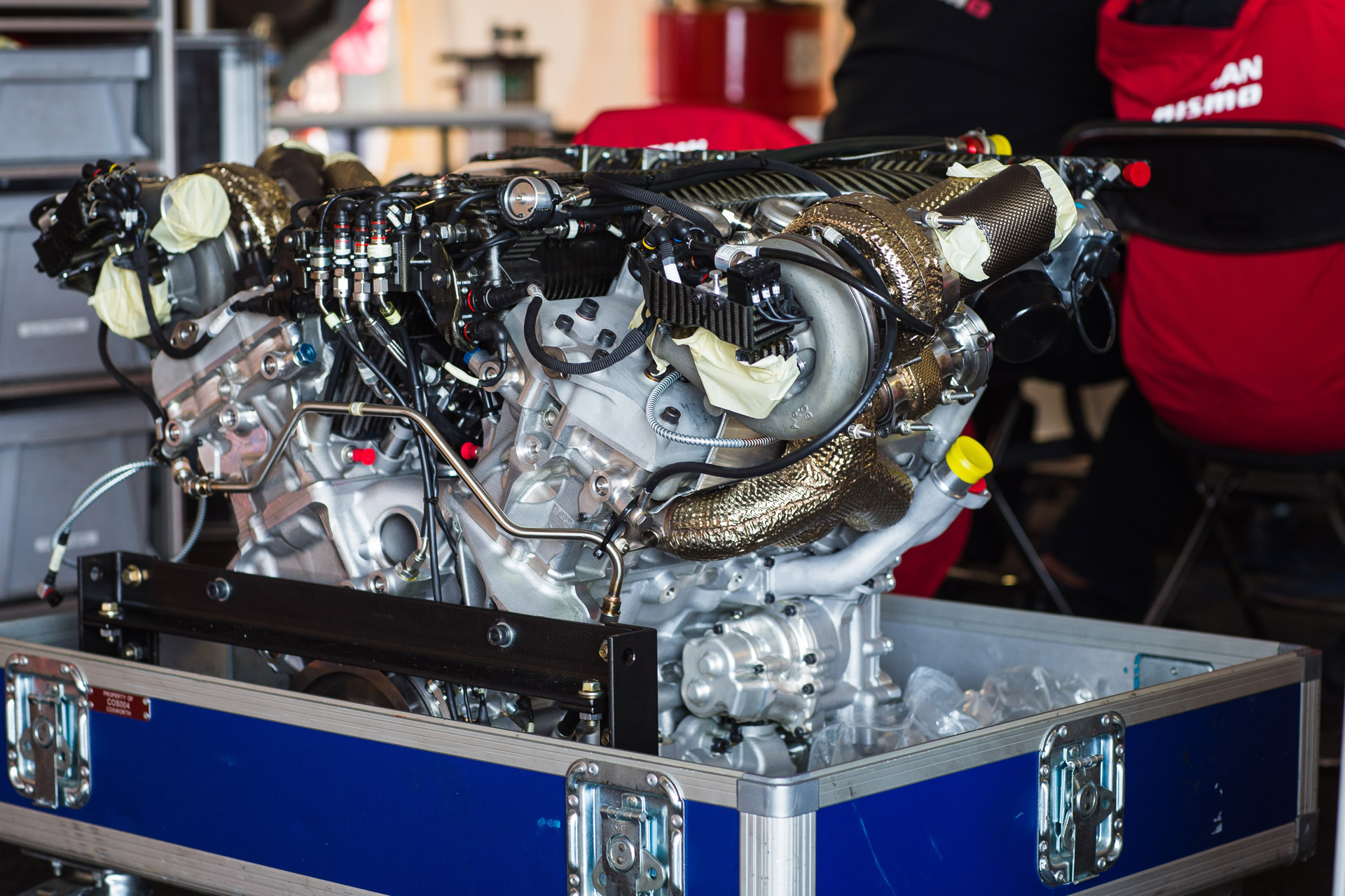R36 GT-R's Twin-Turbo V-6 Derived From Unit In Nissan Le Mans ...