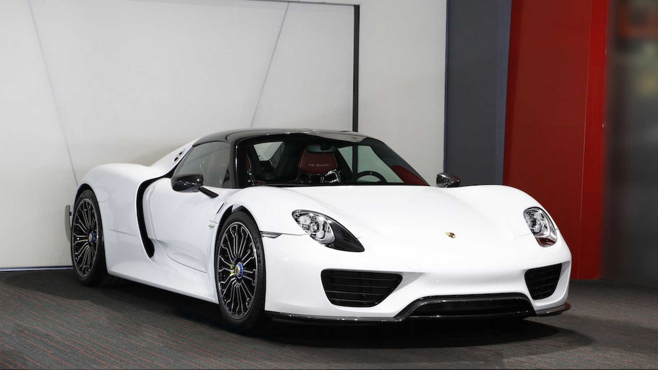 new porsche 918 spyder surfaces for sale online. Black Bedroom Furniture Sets. Home Design Ideas