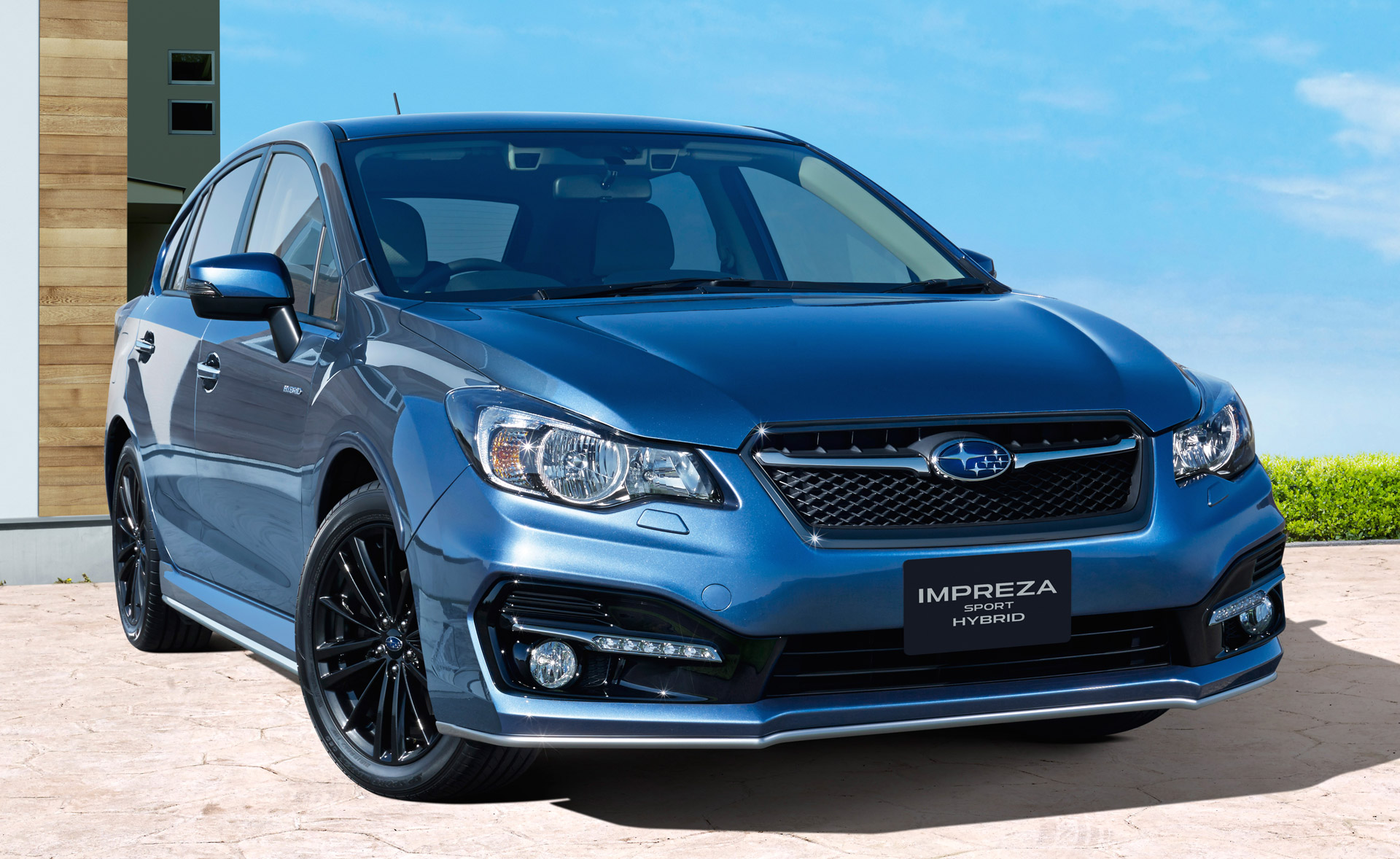 subaru impreza sport hybrid launches in japan. Black Bedroom Furniture Sets. Home Design Ideas