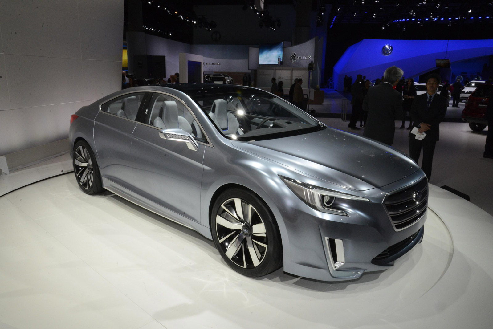 2015 subaru legacy concept live photos and video from l a. Black Bedroom Furniture Sets. Home Design Ideas