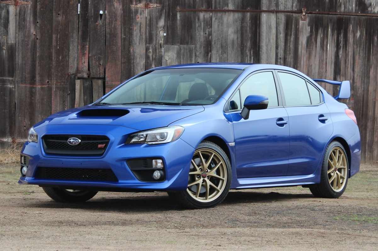 Build Your Own Rally Car With The 2015 Subaru WRX And STI ...