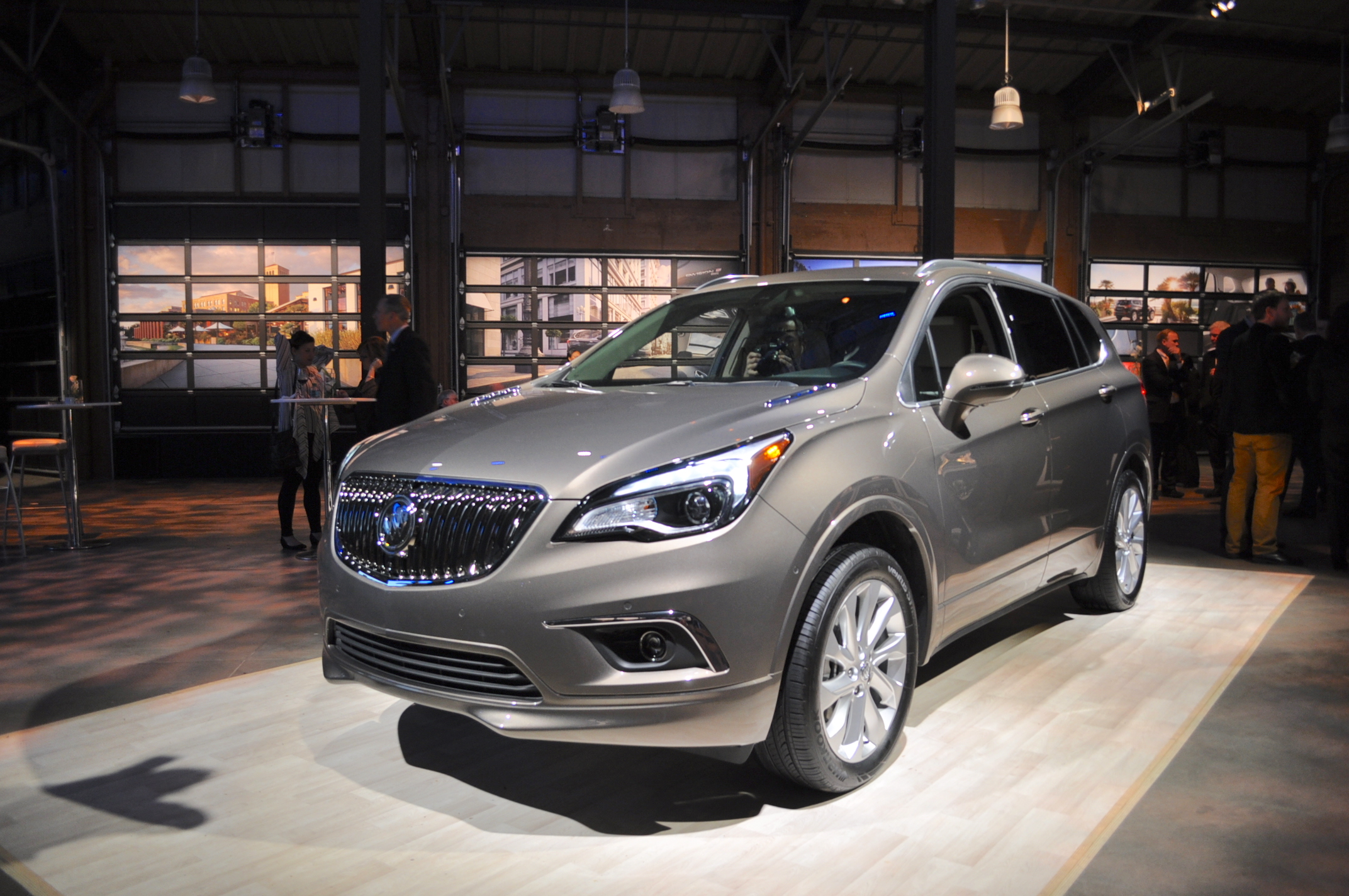 2016 buick envision review ratings specs prices and photos the car connection. Black Bedroom Furniture Sets. Home Design Ideas