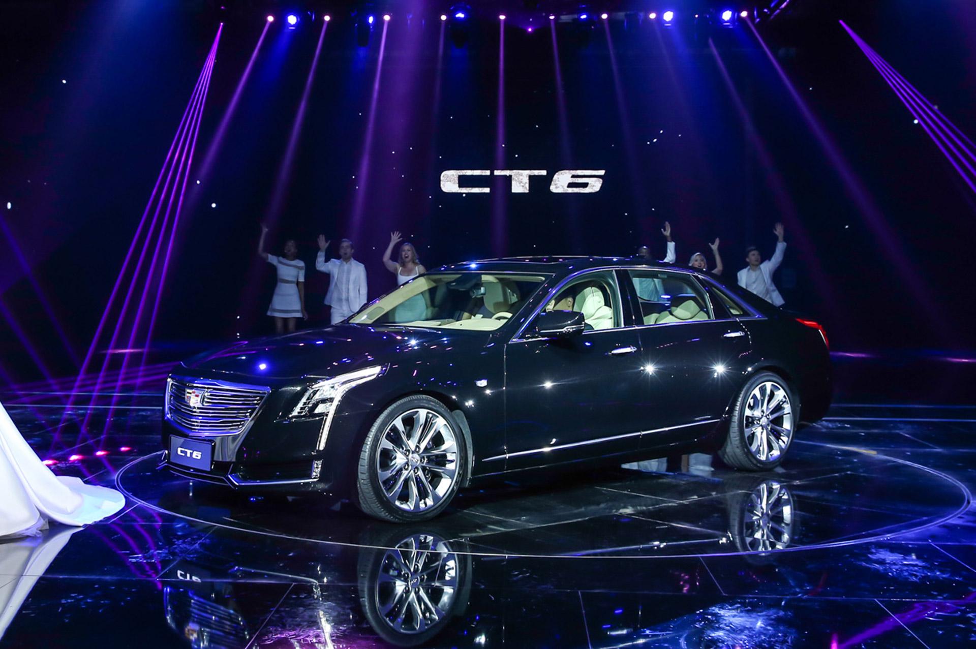 2016 Cadillac Ct6 Plug In Hybrid Debuts At 2015 Shanghai