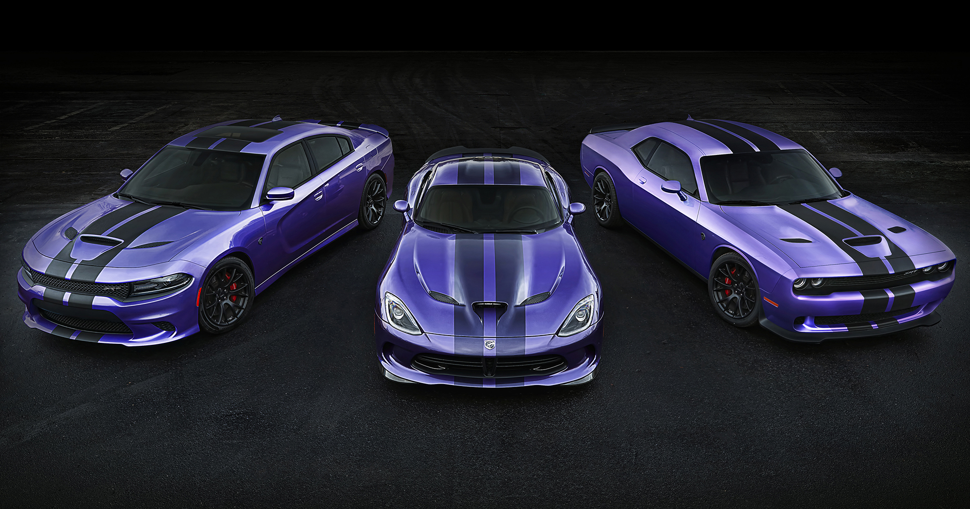 Dodge Lets Plum Crazy Live On And The Hellcat Gets New Stripes