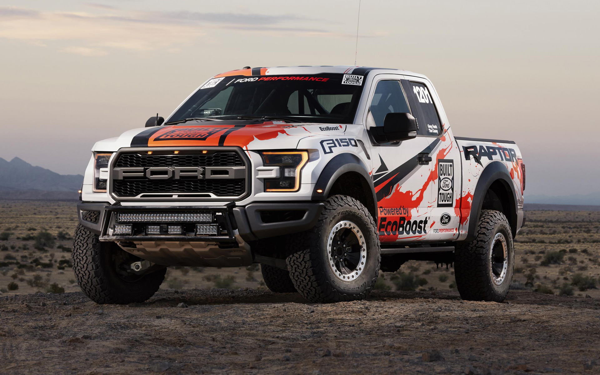virtually stock ford f 150 raptor to tackle 2016 baja 1000. Black Bedroom Furniture Sets. Home Design Ideas