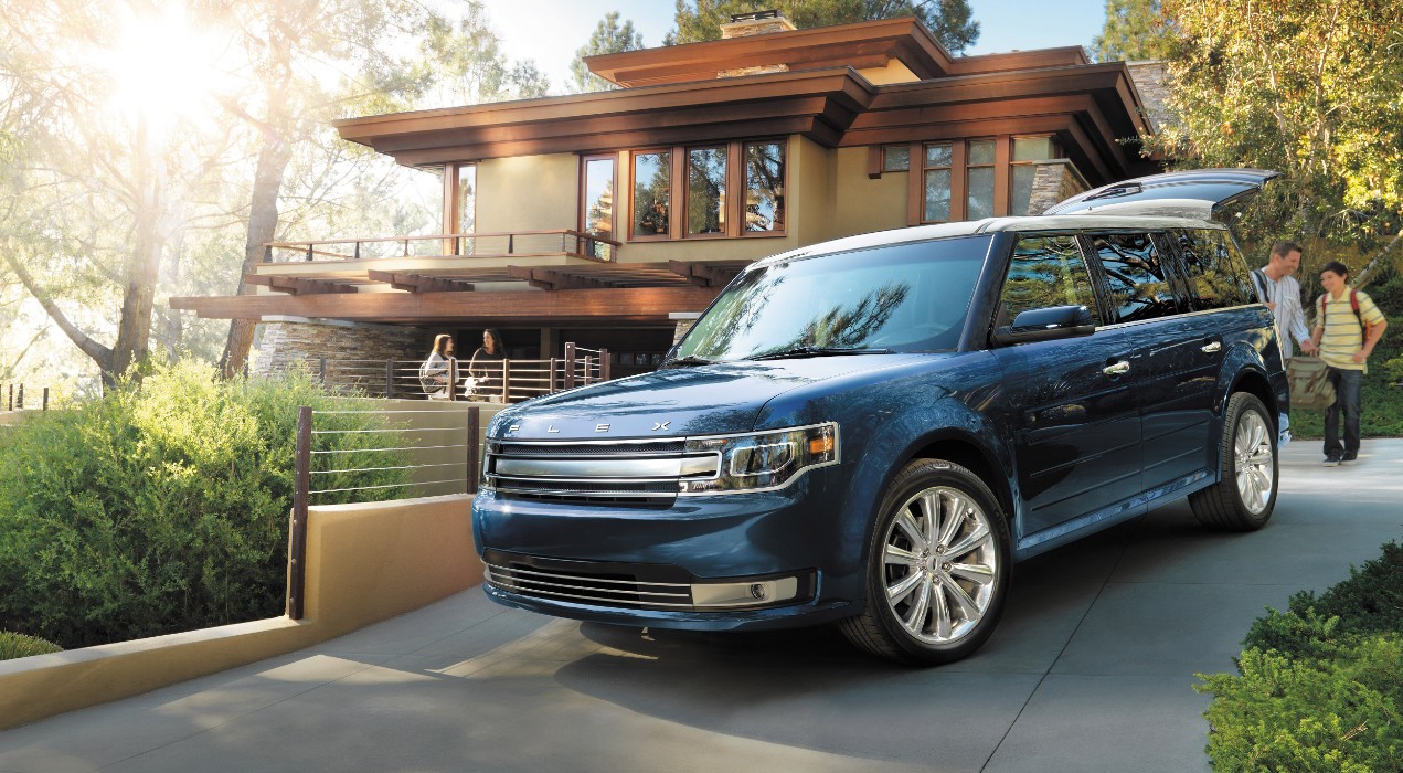 2016 ford flex review ratings specs prices and photos the car connection. Black Bedroom Furniture Sets. Home Design Ideas