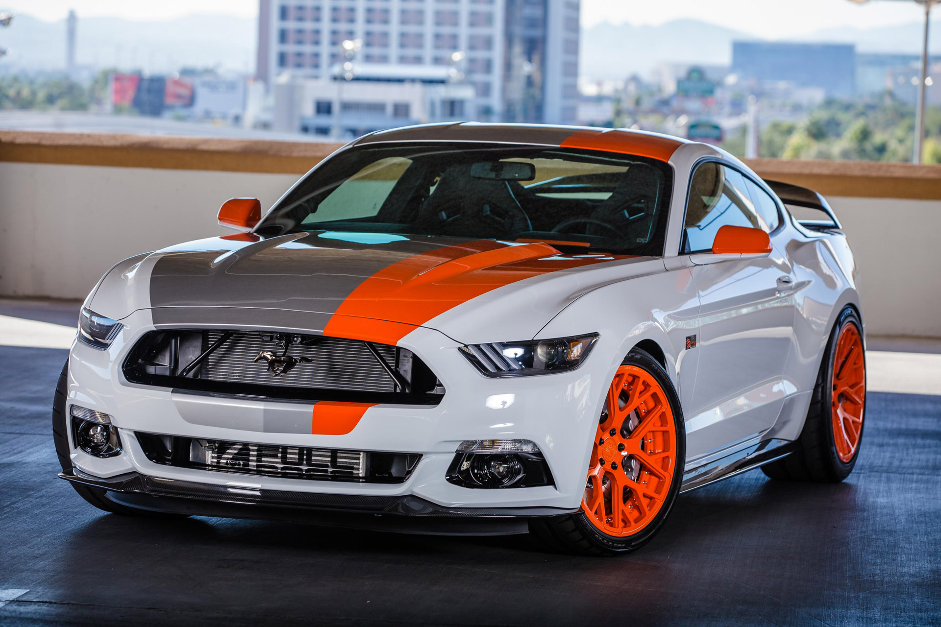 ford mustang named hottest car at 2015 sema show. Black Bedroom Furniture Sets. Home Design Ideas