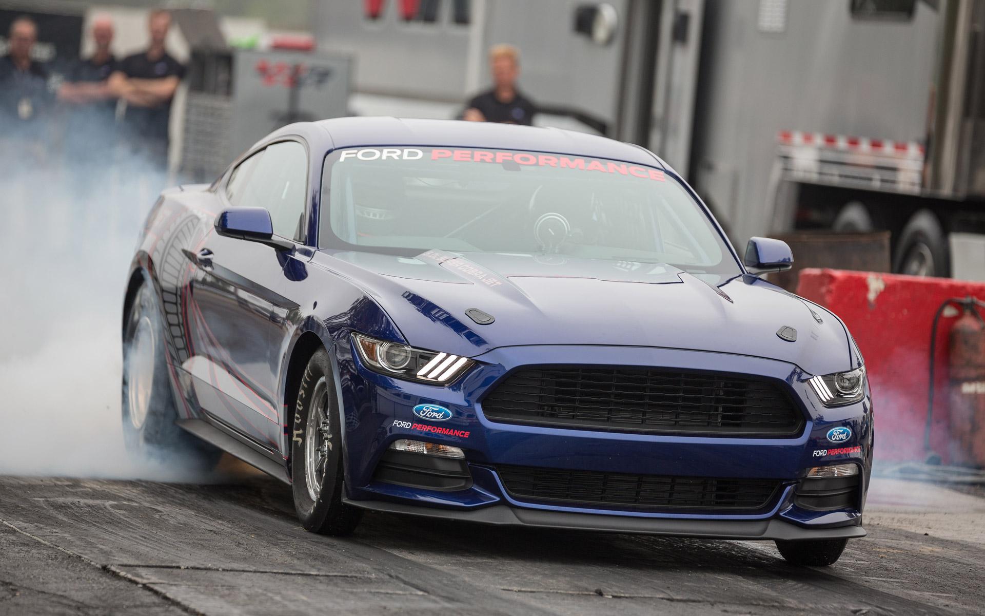 2016 Ford Mustang Cobra Jet Revealed, Runs 8.0-Second Quarter Mile: Video