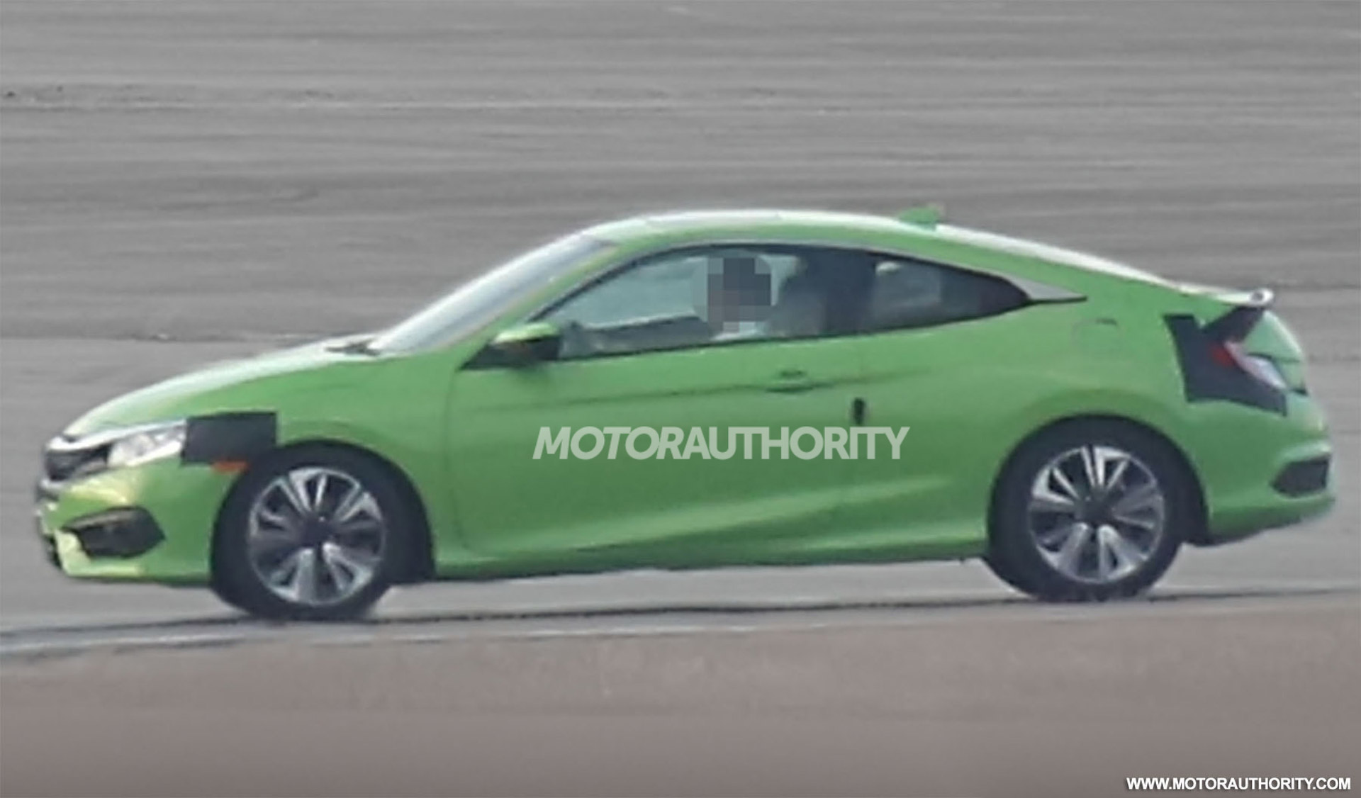 2016 honda civic coupe spy shots. Black Bedroom Furniture Sets. Home Design Ideas