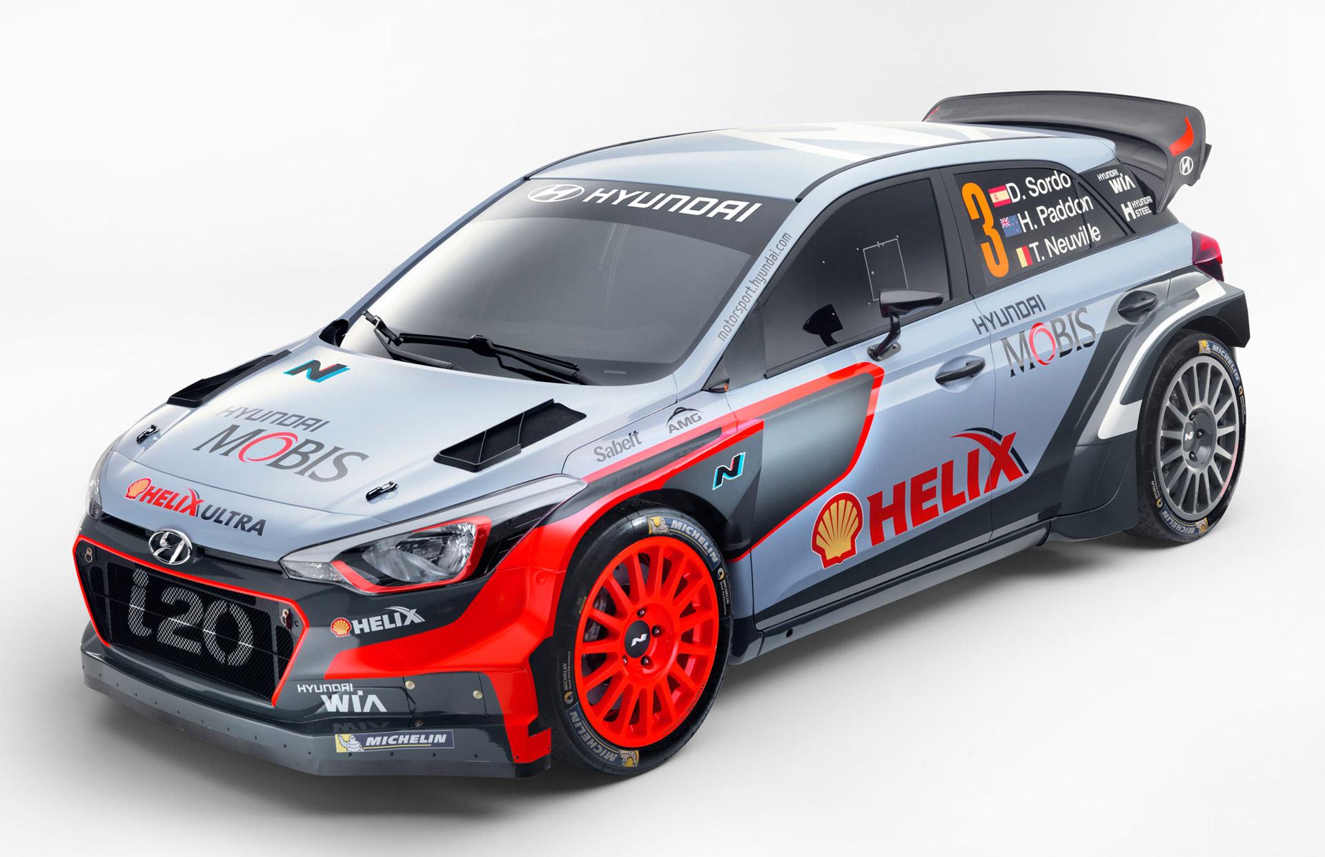 2016 Hyundai i20 WRC Revealed