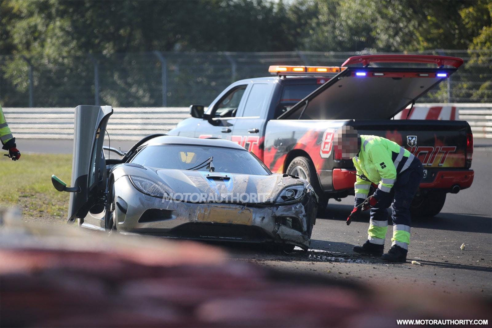 2016 Koenigsegg Agera R Development Prototype Crashed On