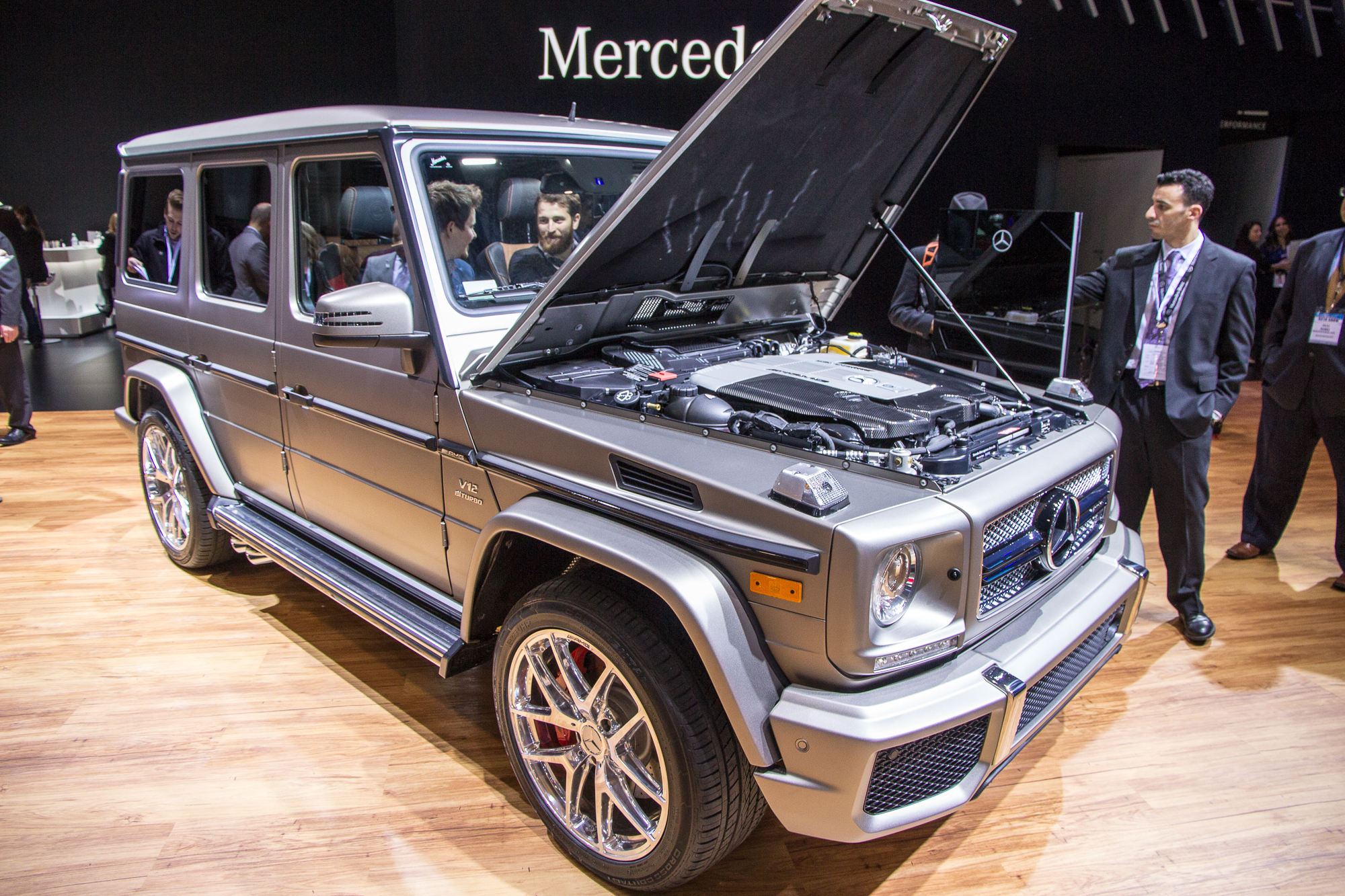 2016 Mercedes Amg G65 Brings V 12 Goodness For 218 825