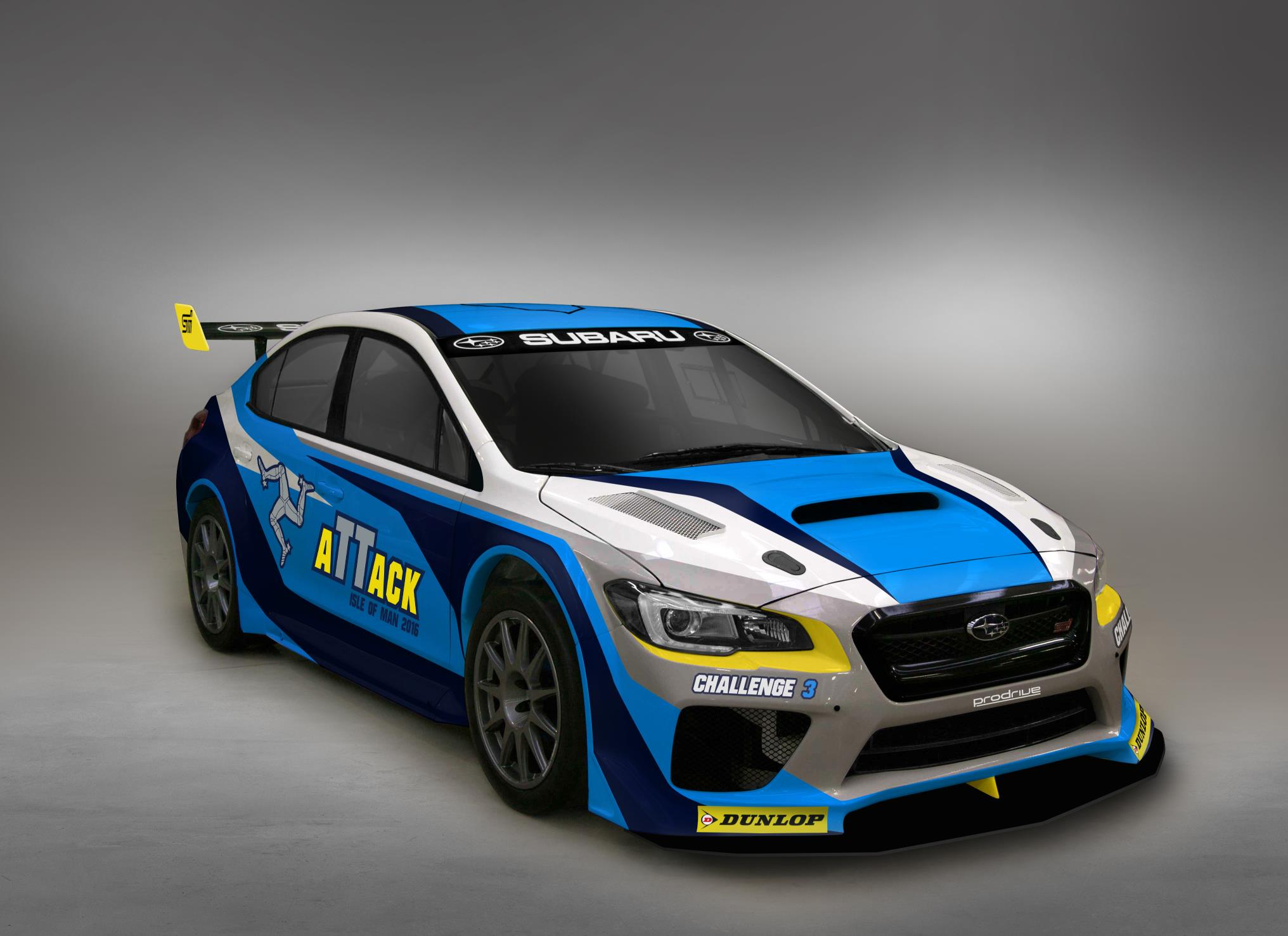 Subaru Shows Off New Isle Of Man Record Attempt Car