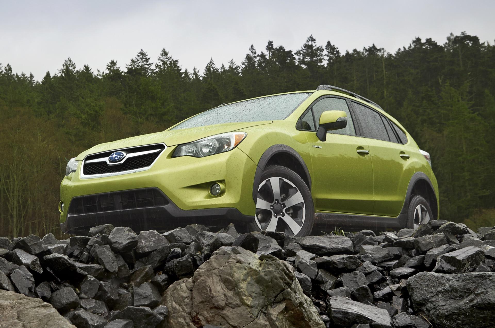 Subaru Crosstrek Hybrid discontinued for 2017 model year