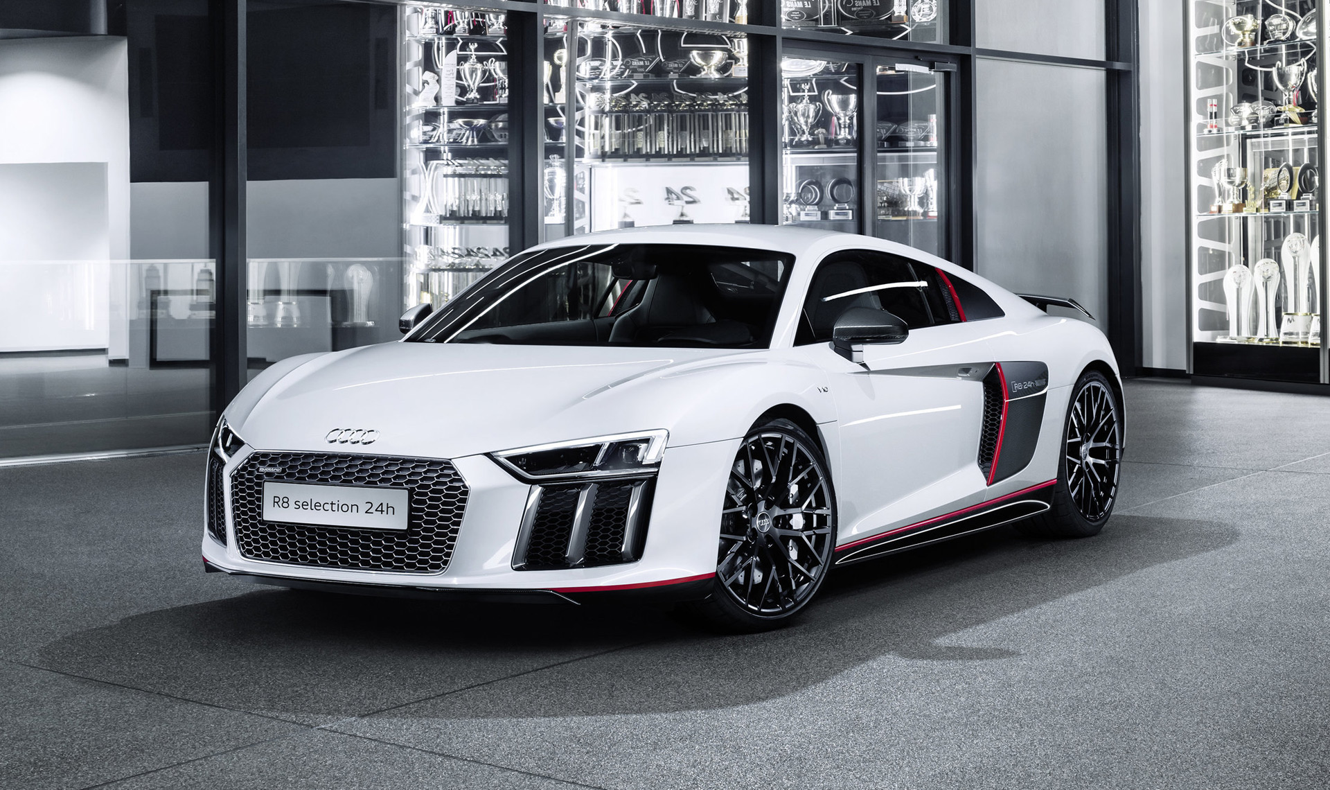 audi unveils n rburgring 24 hours inspired r8. Black Bedroom Furniture Sets. Home Design Ideas