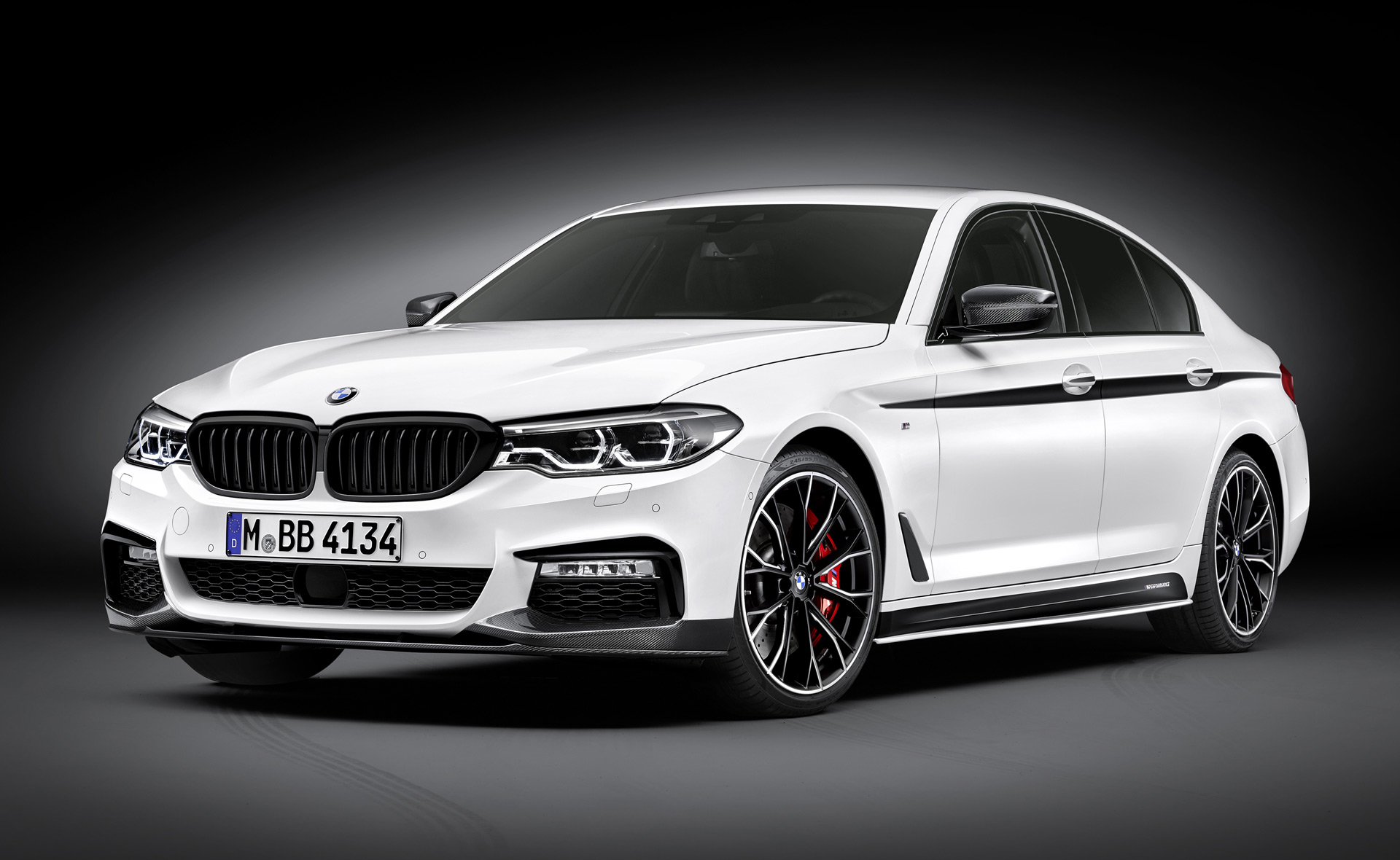 2017 bmw 5 series gets m performance goodies