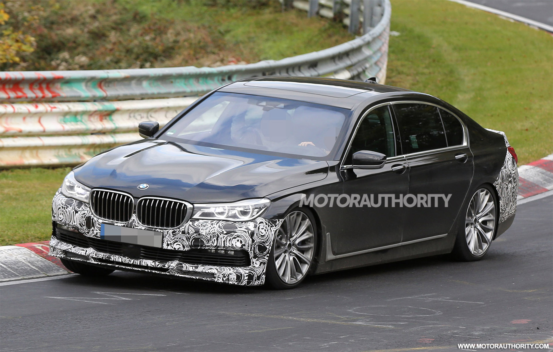 2017 BMW Alpina B7 Spy Shots