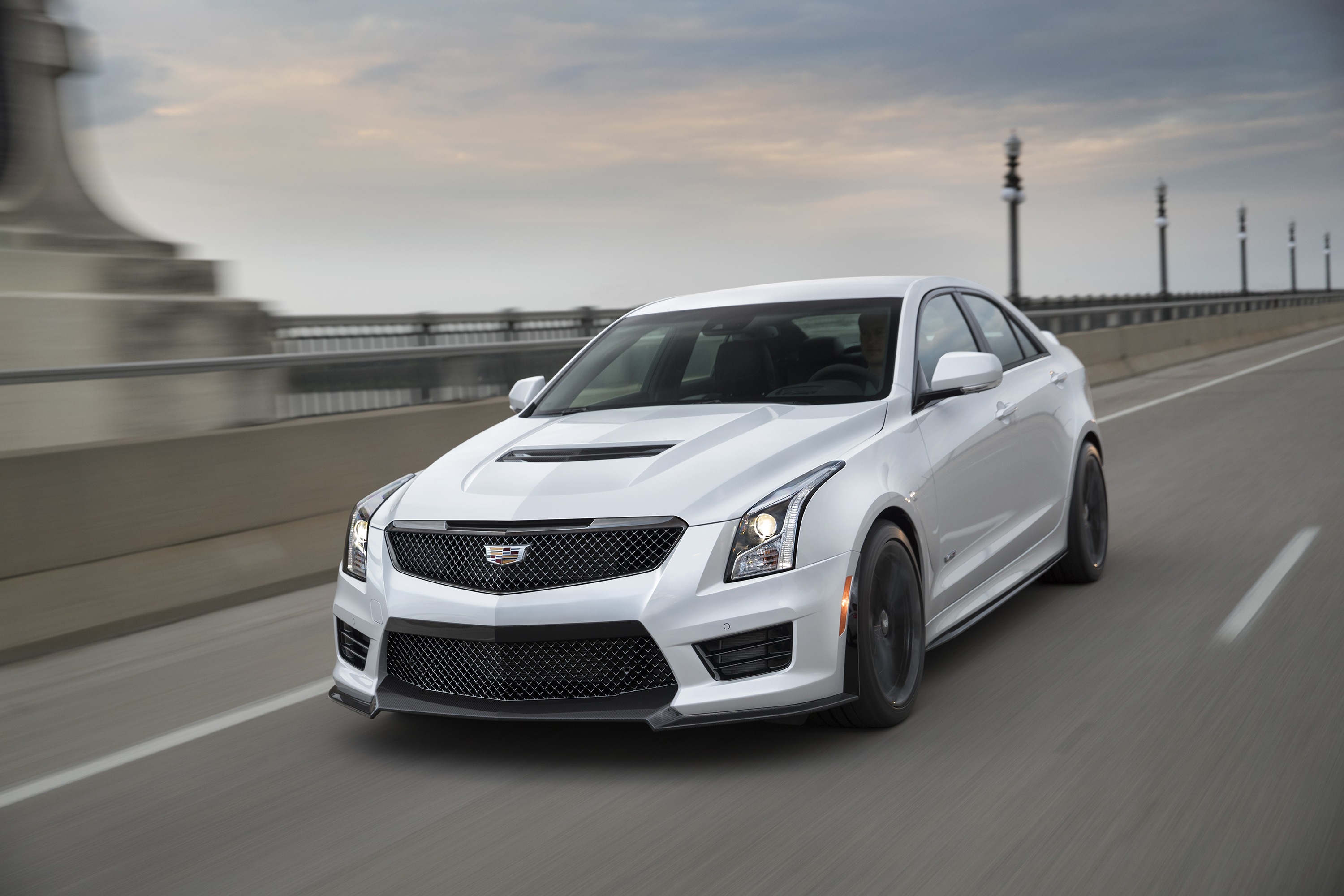 2017 cadillac ats v review ratings specs prices and photos the car connection. Black Bedroom Furniture Sets. Home Design Ideas