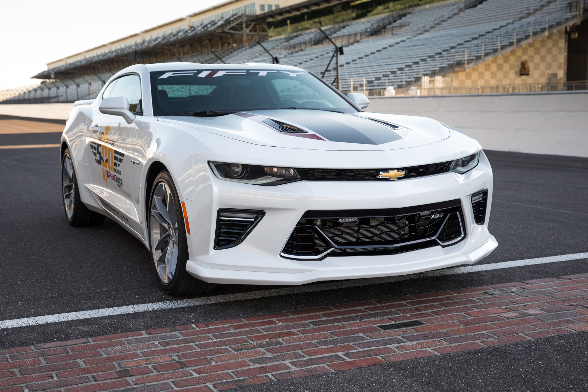 Honda Accord Concept 2018 >> 50th Anniversary Camaro SS named official pace car of 2016 Indy 500