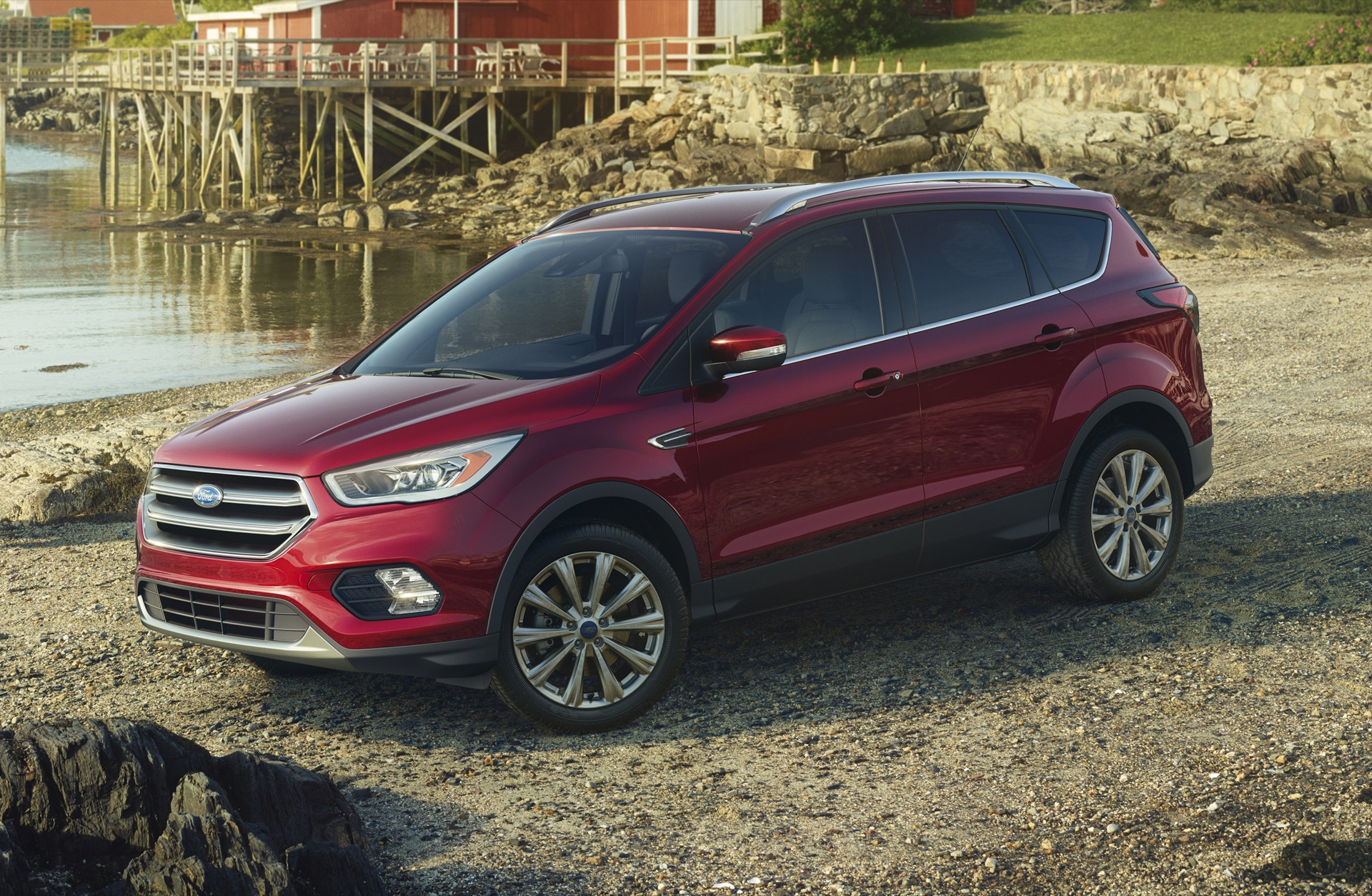 2017 ford escape review ratings specs prices and photos the car connection. Black Bedroom Furniture Sets. Home Design Ideas