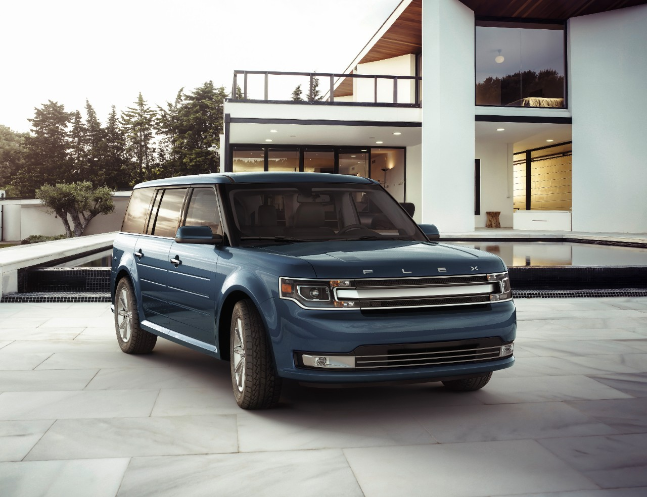 2017 ford flex performance review the car connection. Black Bedroom Furniture Sets. Home Design Ideas