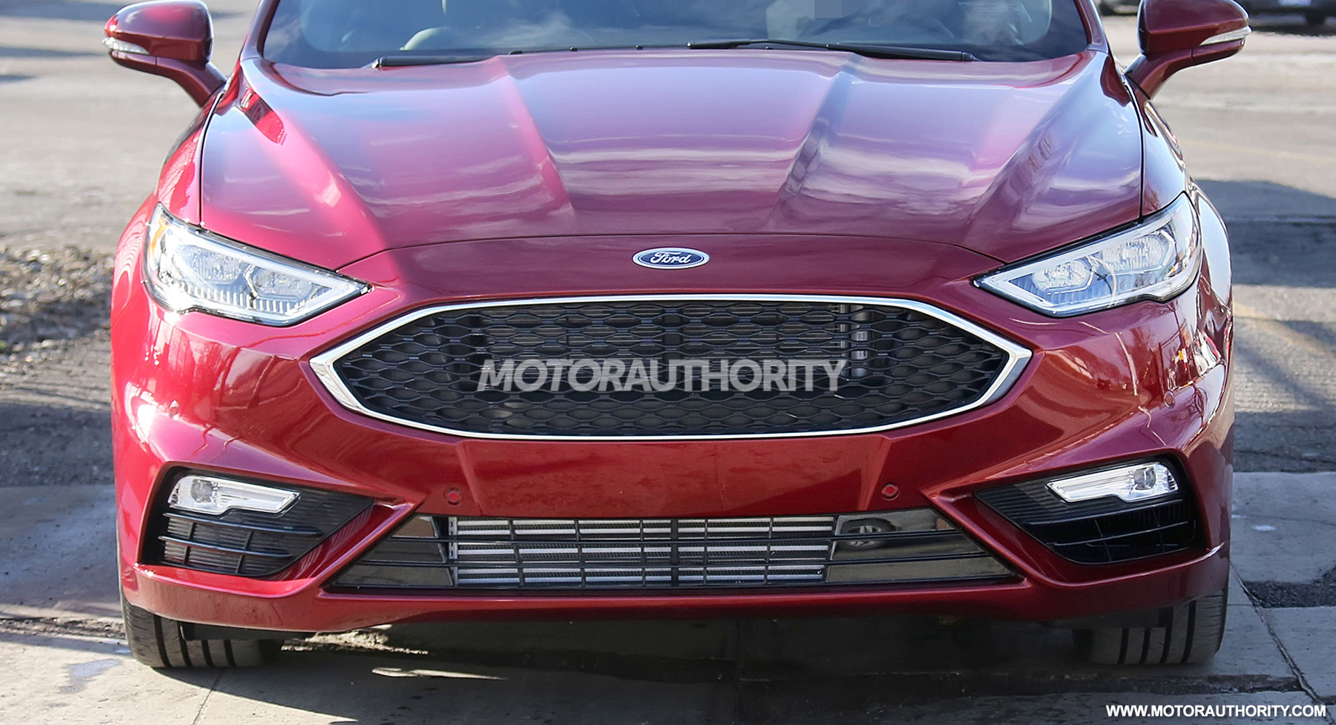 2020 Ford Fusion Spy Shots