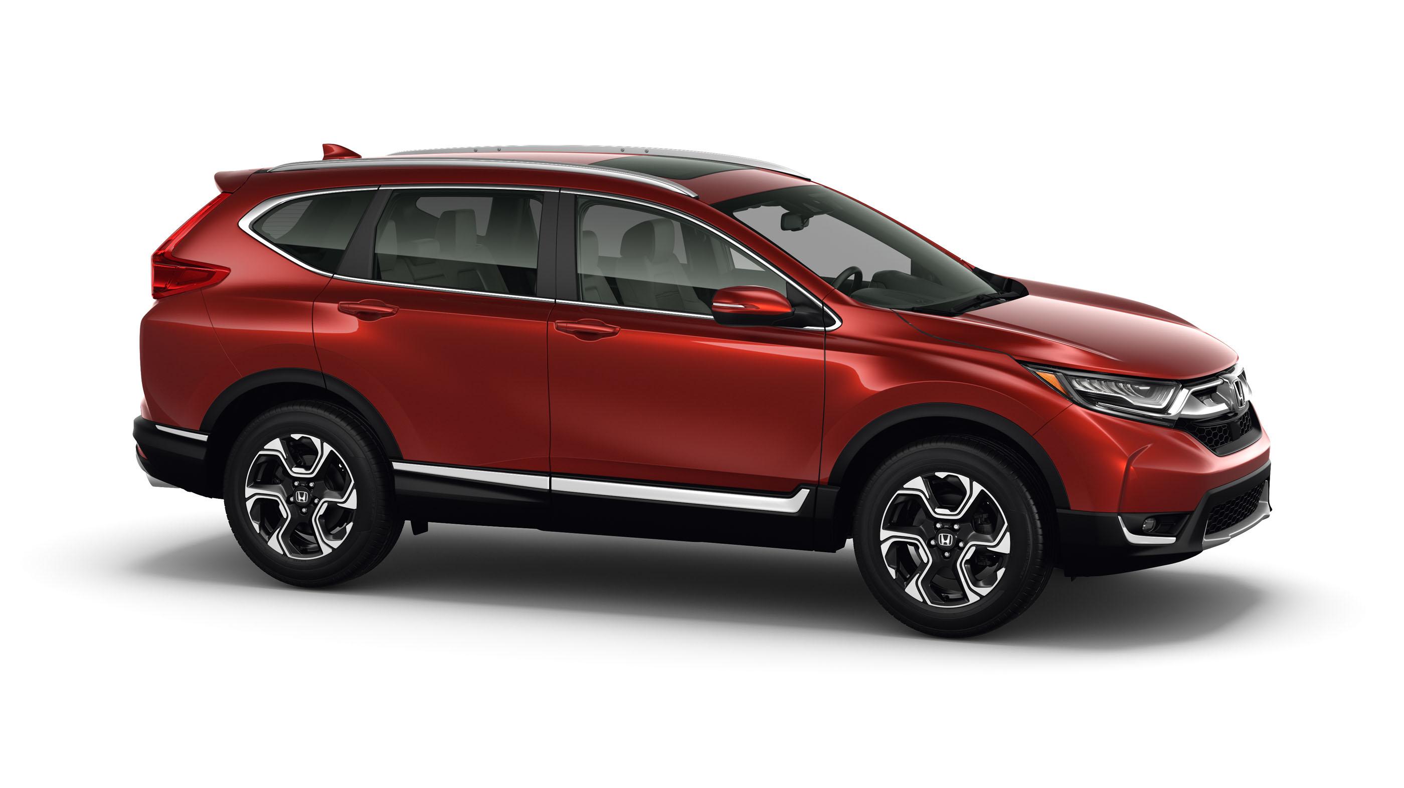 Value-packed 2017 Honda CR-V unveiled