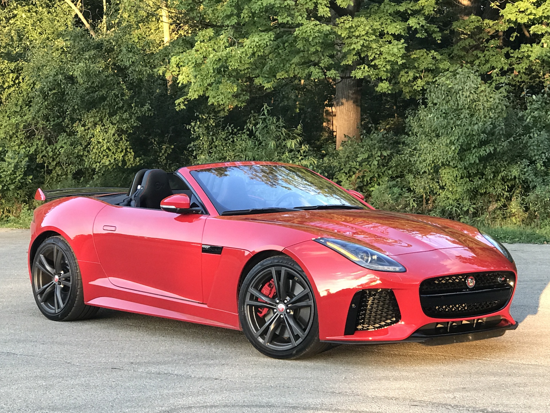 2017 Jaguar F-Type SVR Convertible first drive review ...