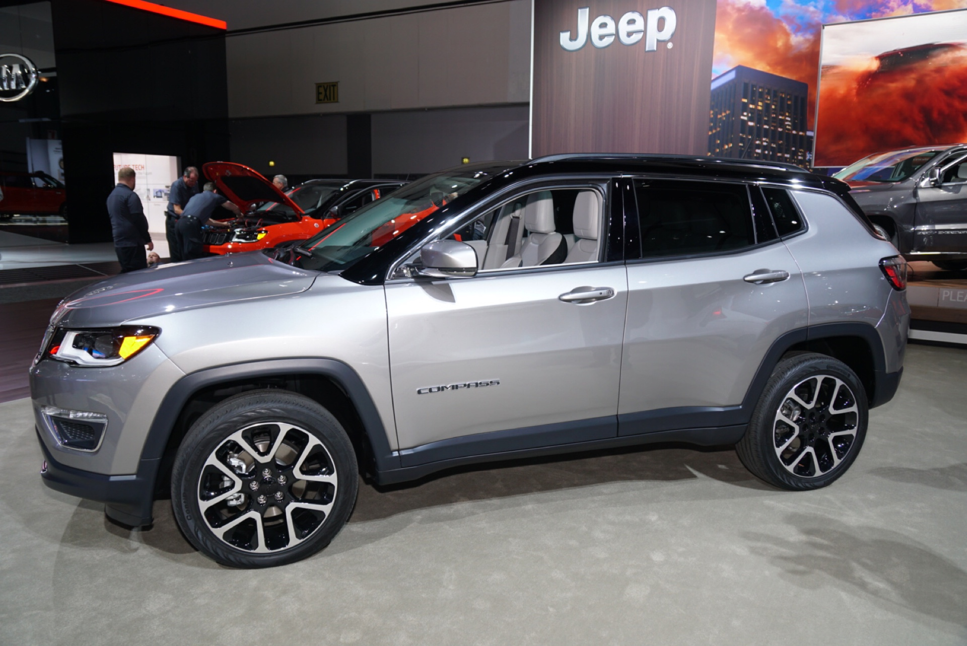 2017 Jeep Compass Video Preview 2016 Los Angeles Auto Show