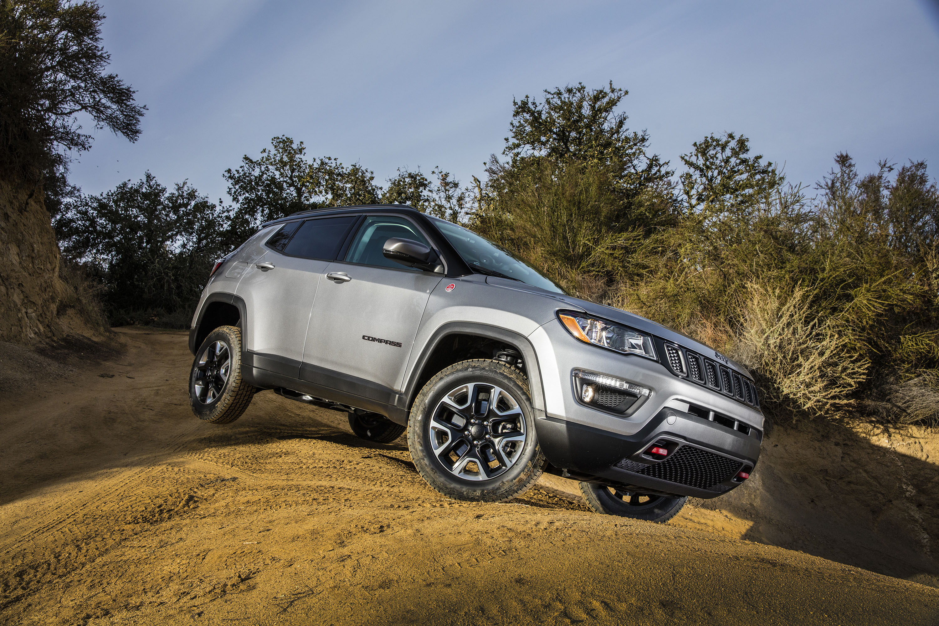 2017 Jeep Compass Review Ratings Specs Prices And