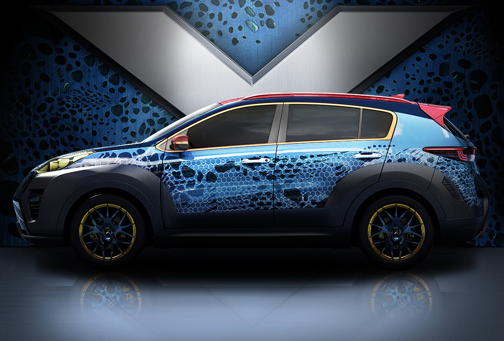 Kia Gears Up For 'X-Men: Apocalypse' With Special Sportage ...