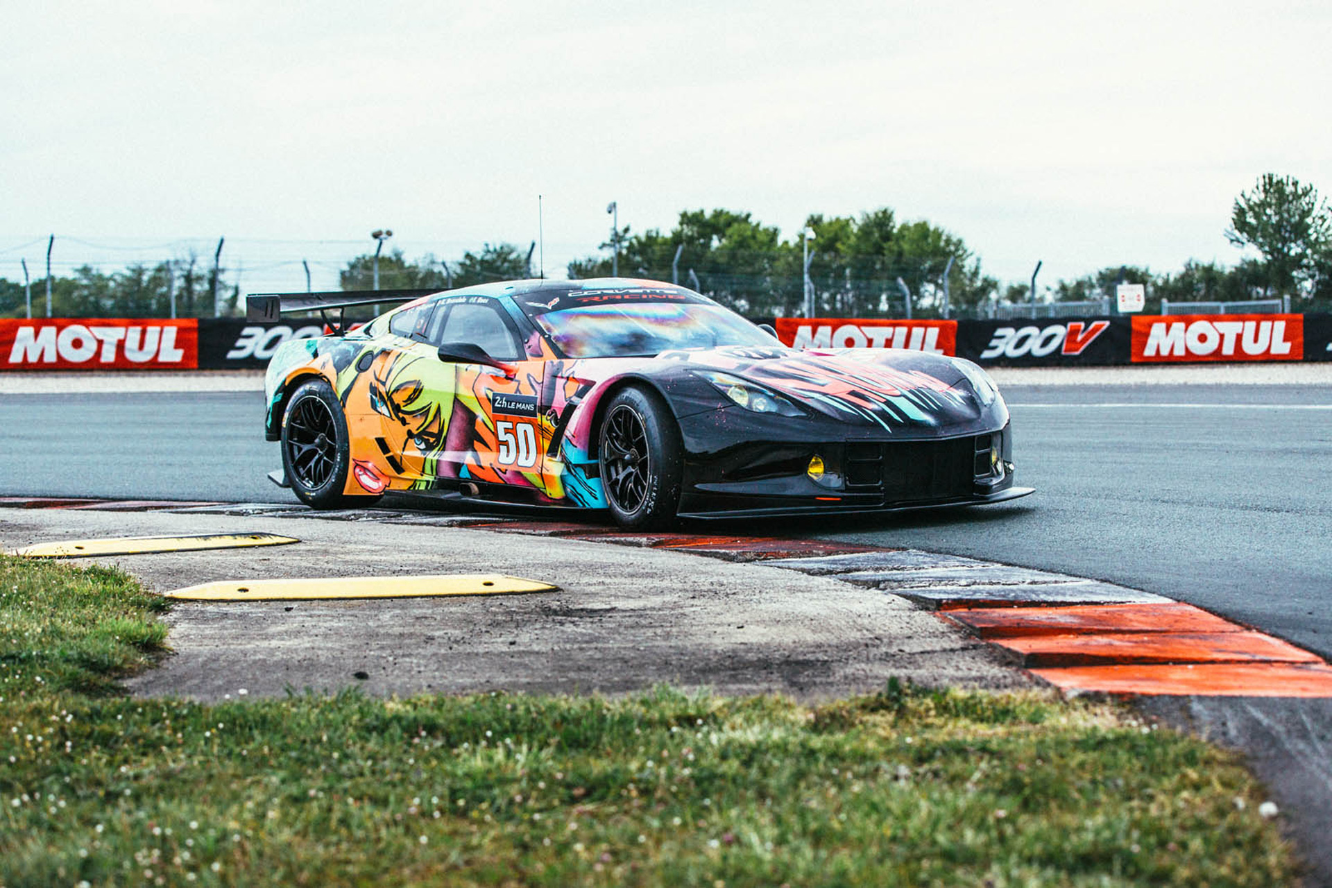 French Team To Race Wild Corvette C7.R Art Car In 24 Hours Of Le Mans