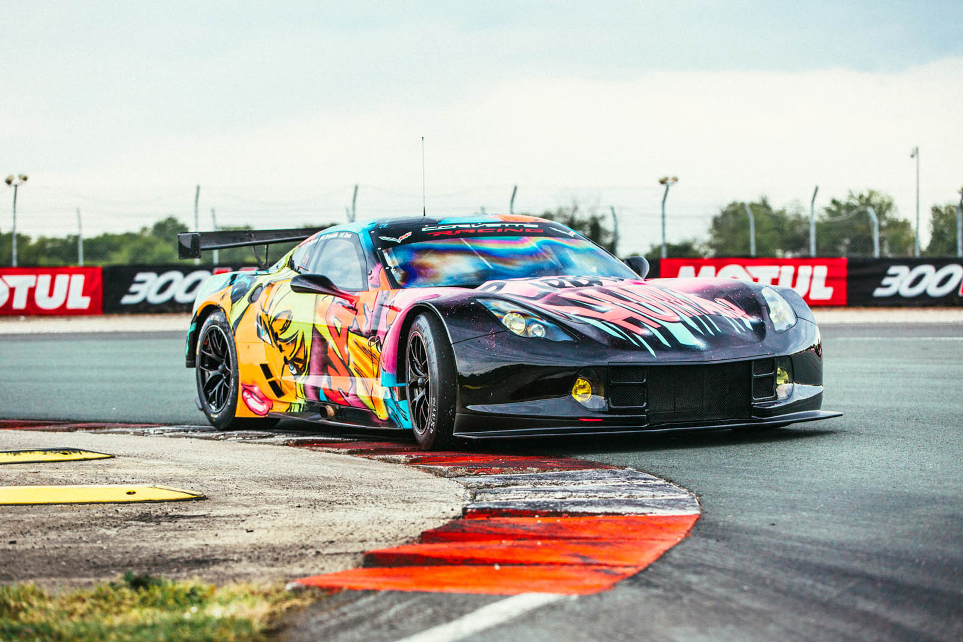 High Quality French Team To Race Wild Corvette C7.R Art Car In 24 Hours Of Le Mans